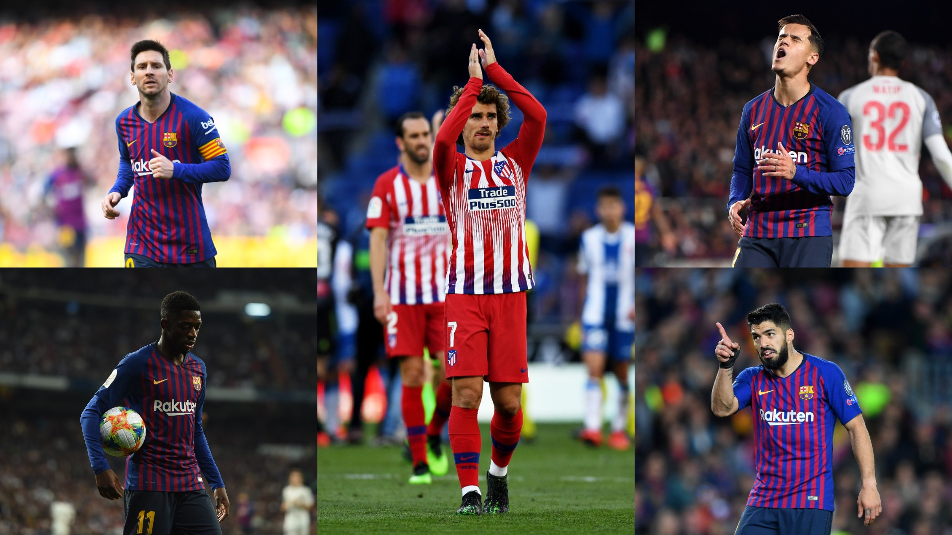 No space for Coutinho, an end to Suarez rift? - What would Griezmann's signing mean for Barcelona's forwards?
