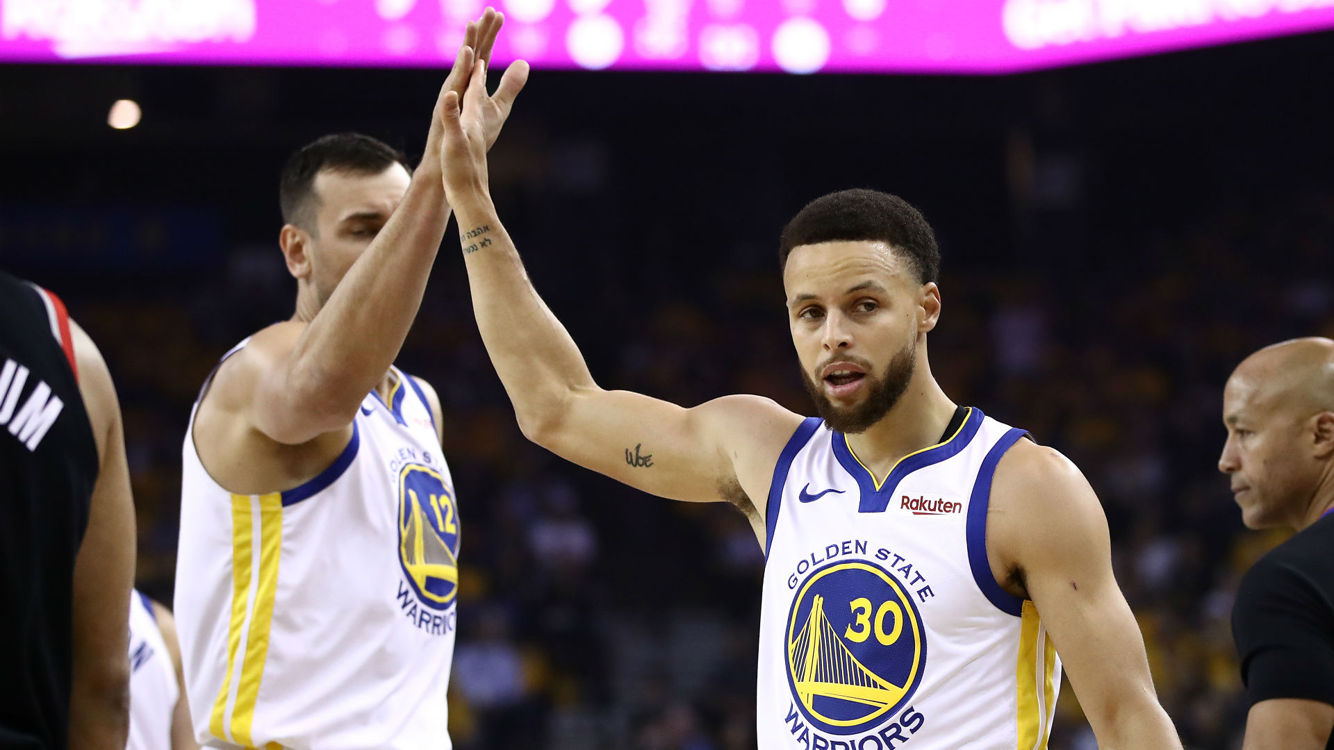 Three takeaways from Warriors' dominant Game 1 win over Trail Blazers