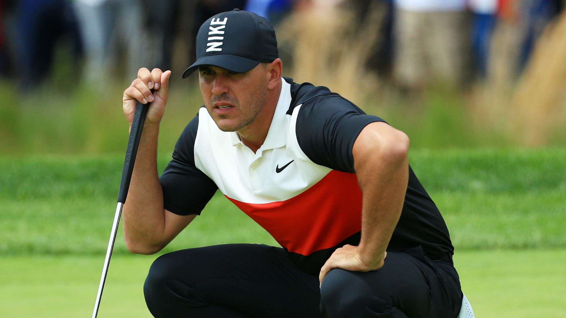 Stunning course record not enough for Koepka