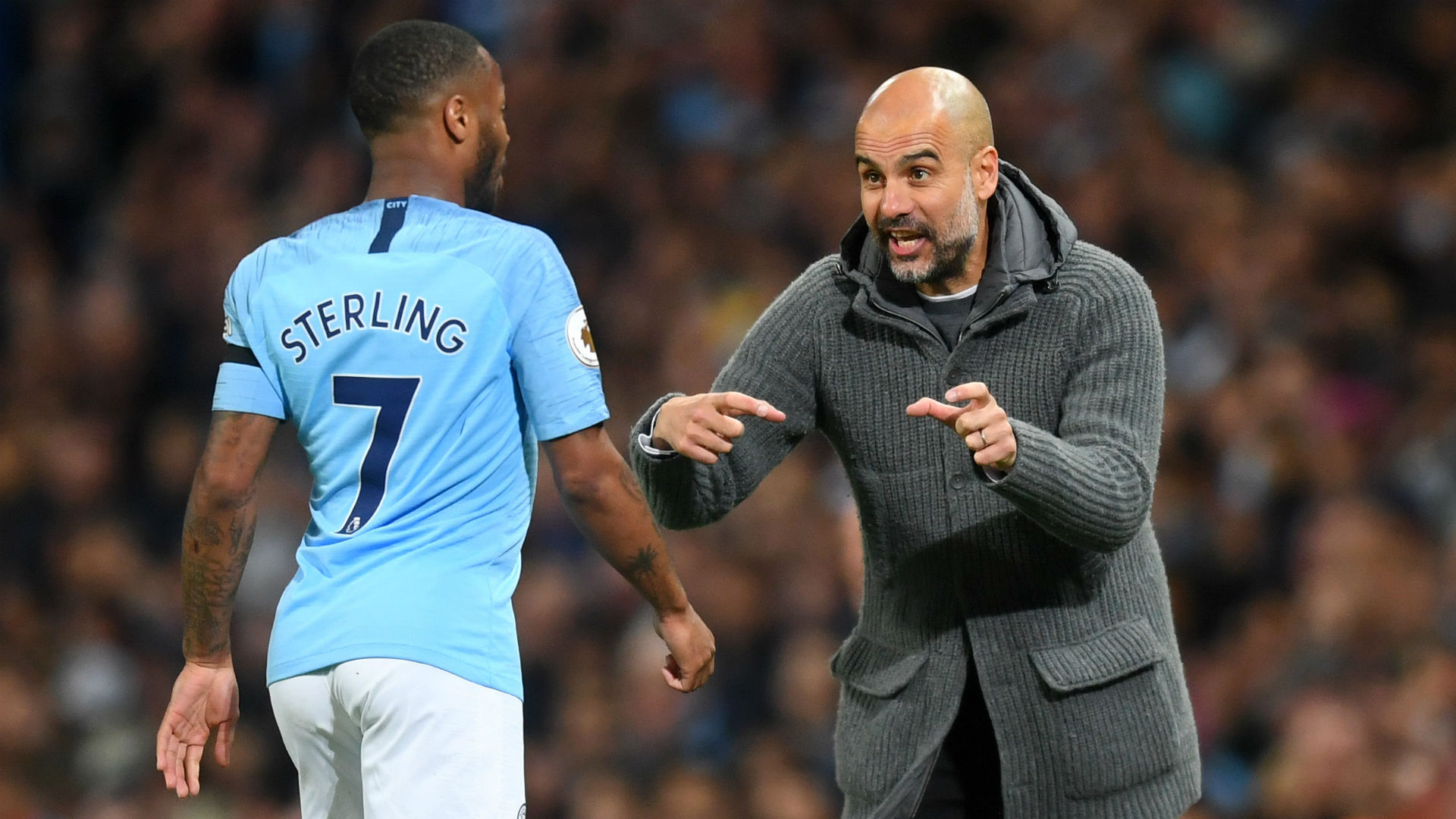 Guardiola's fines made City winners – Sterling