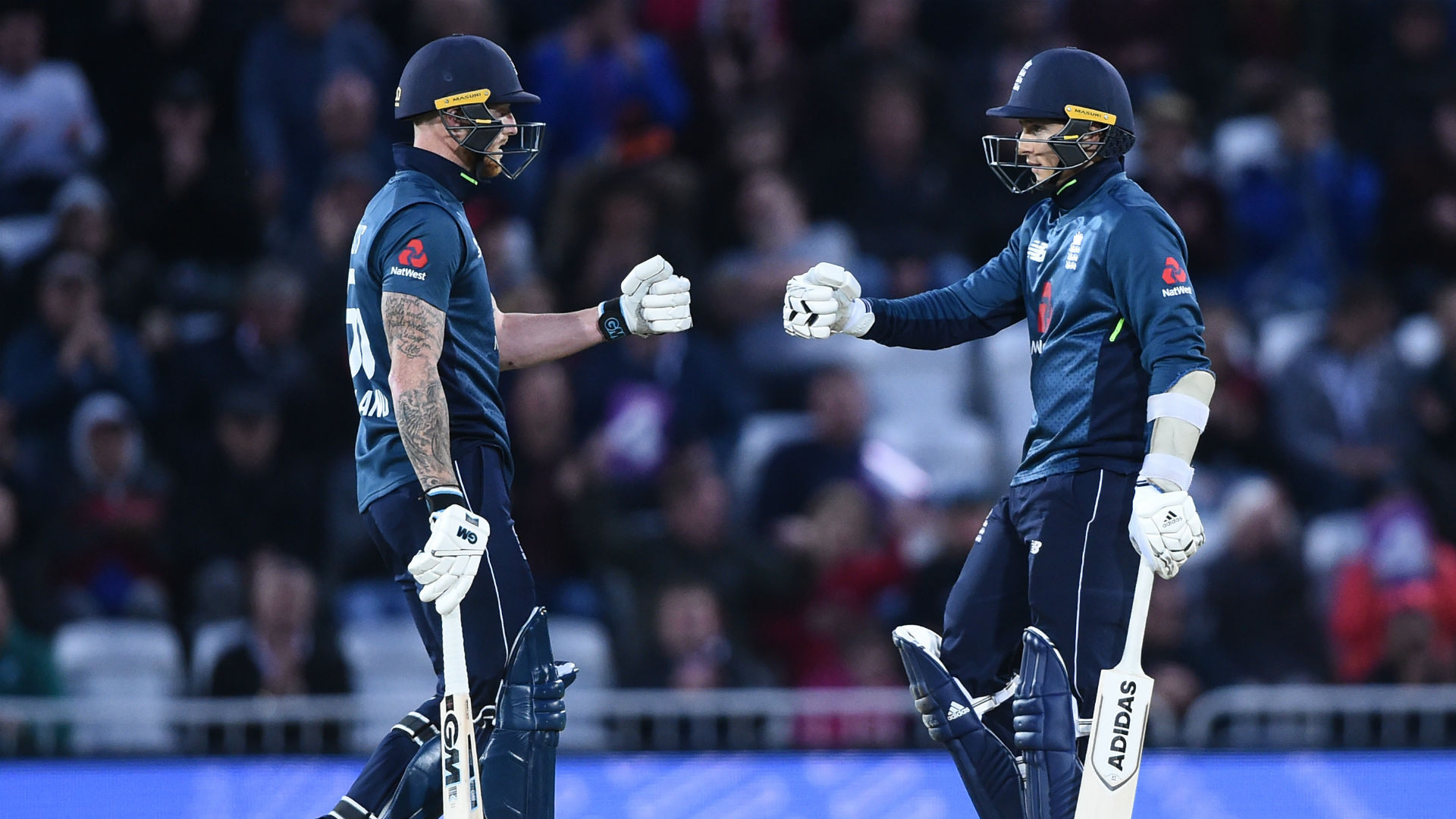 Stokes guides England to series win after Babar and Roy hundreds