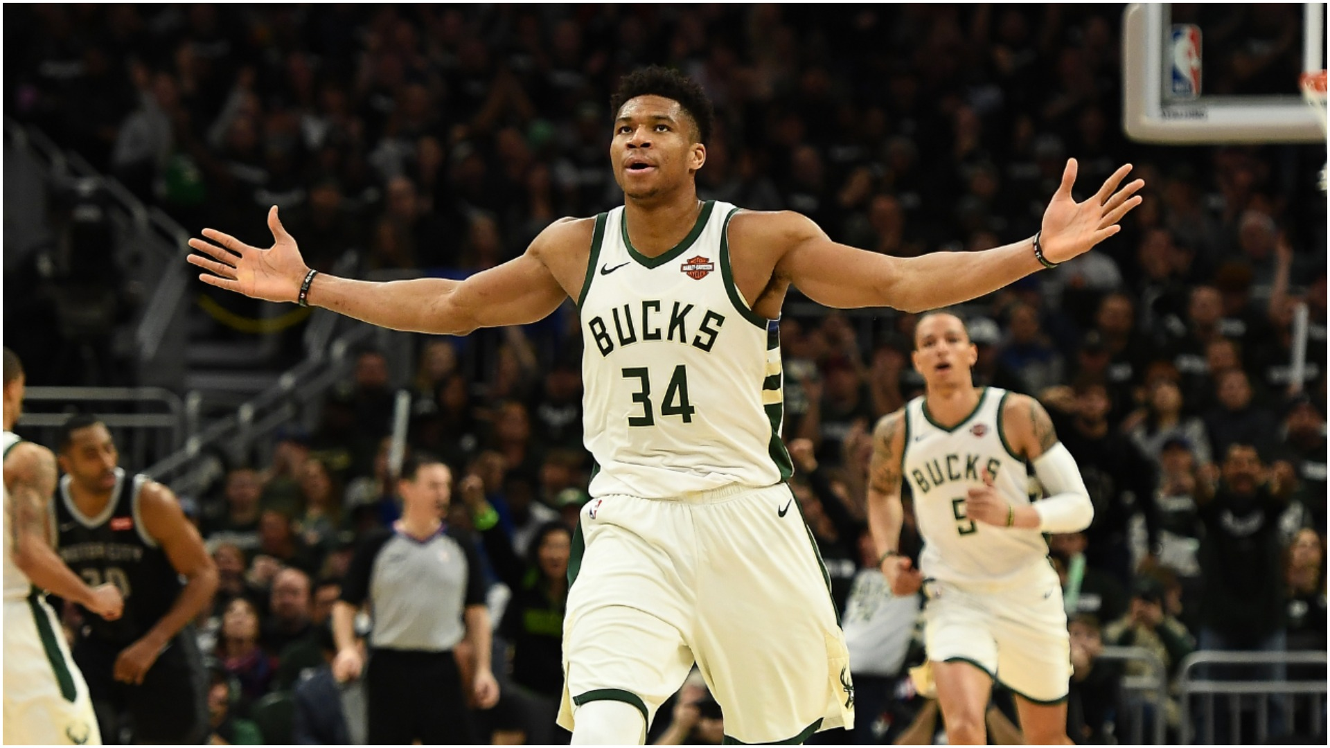 George, Harden and Giannis named NBA MVP finalists