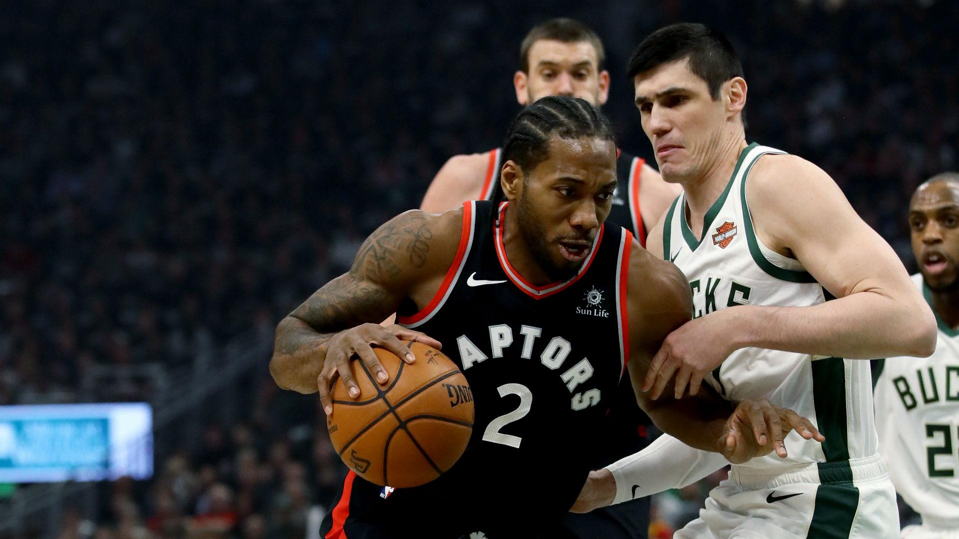 Leonard lays down Raptors challenge after back-to-back Bucks defeats