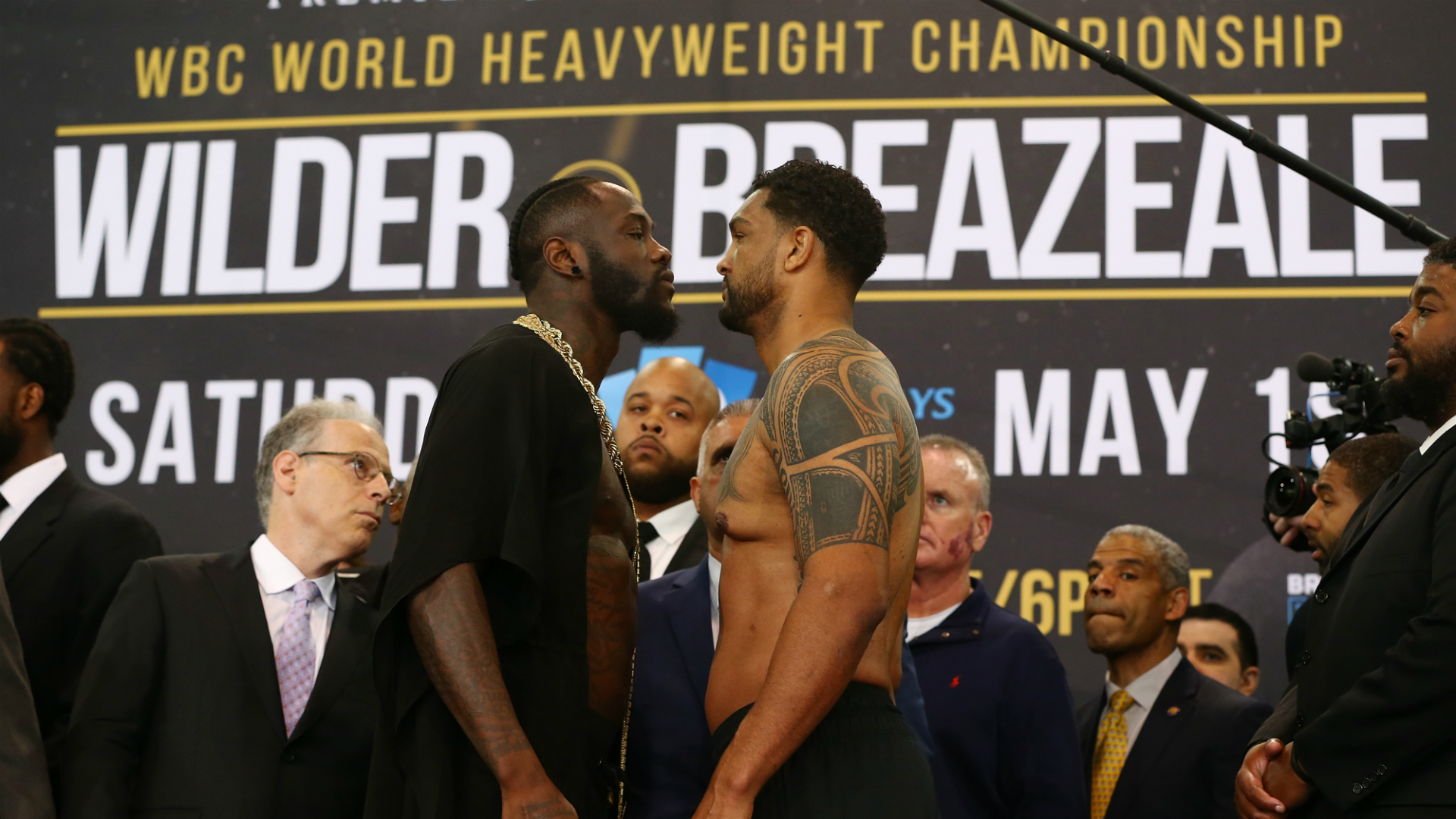 Wilder ready for 'judgement day' after war of words with Breazeale