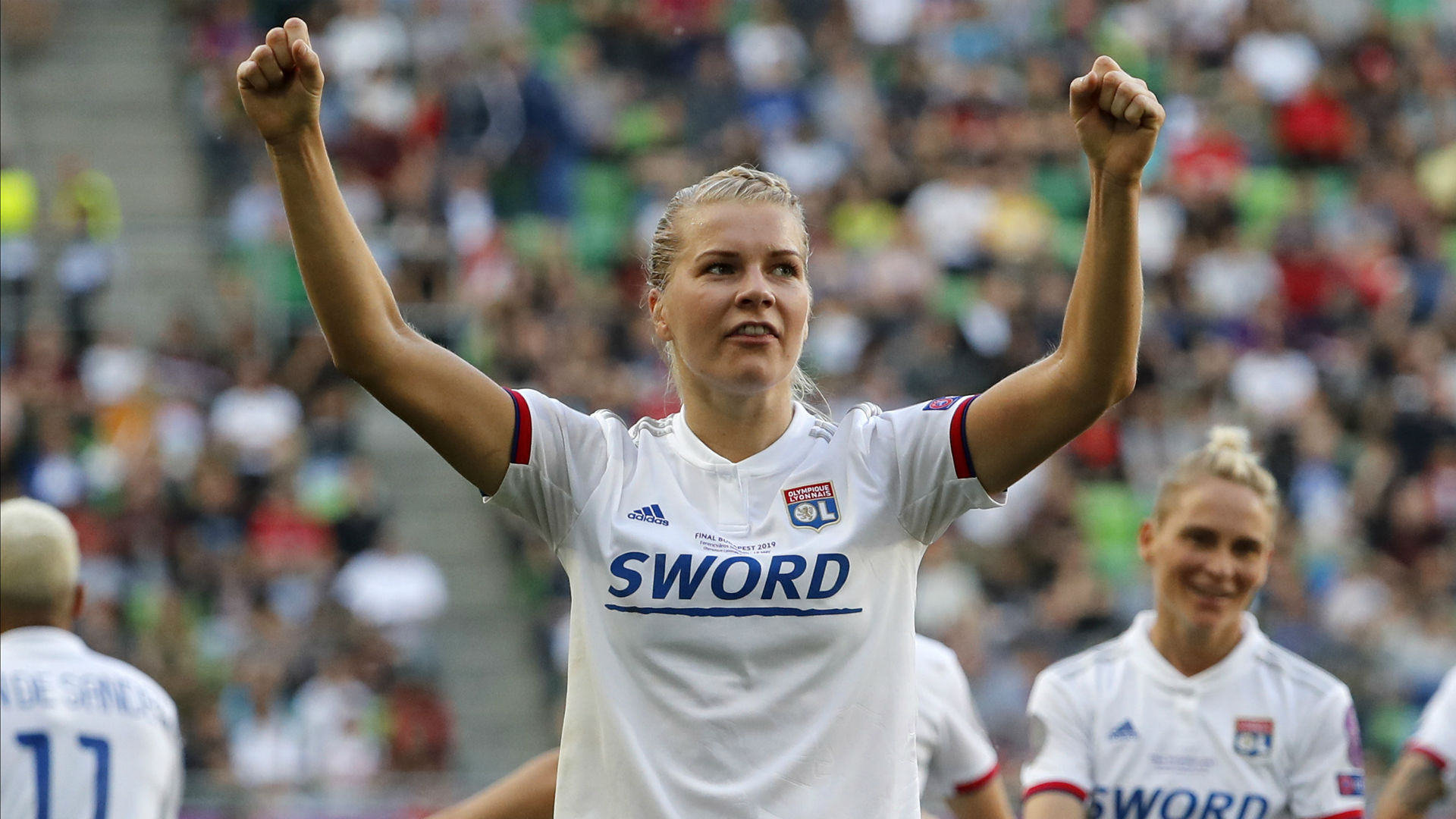 Hegerberg hat-trick earns Lyon sixth Women's Champions League title