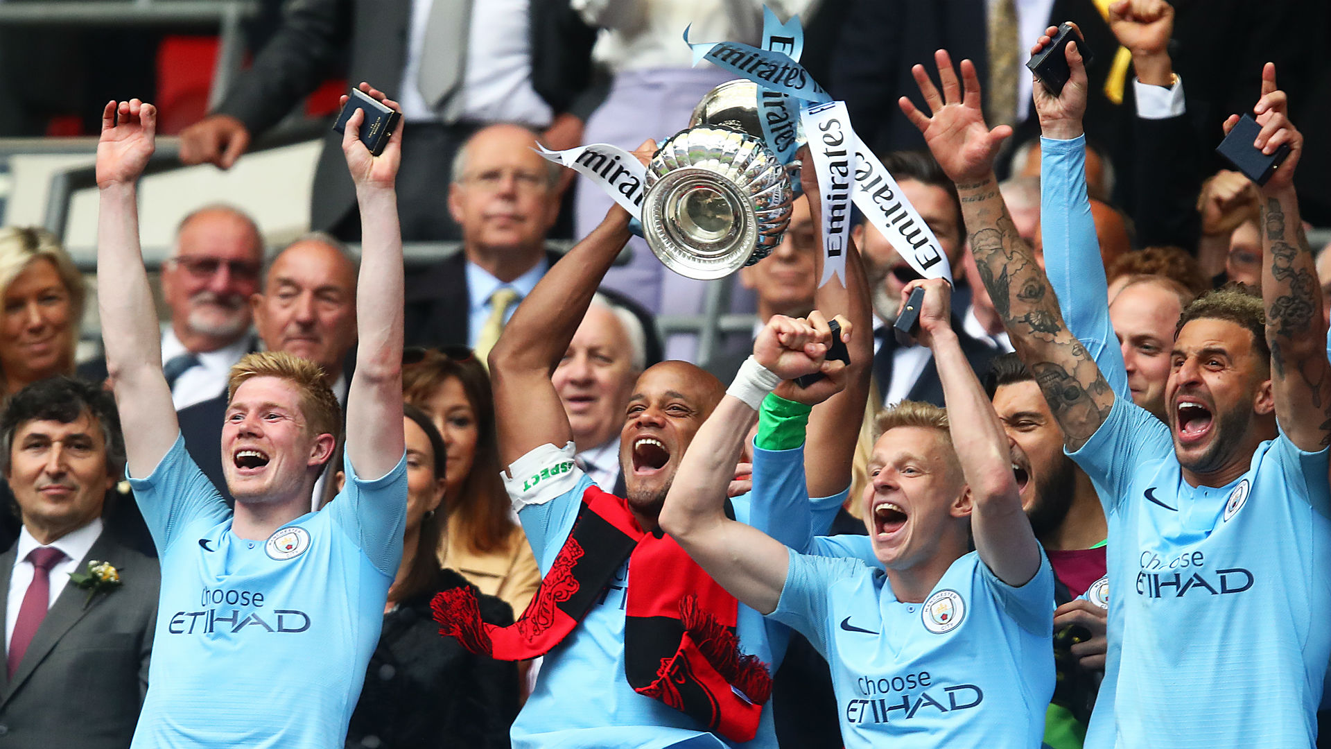 Kompany thanks Guardiola and Manchester City team-mates after announcing departure