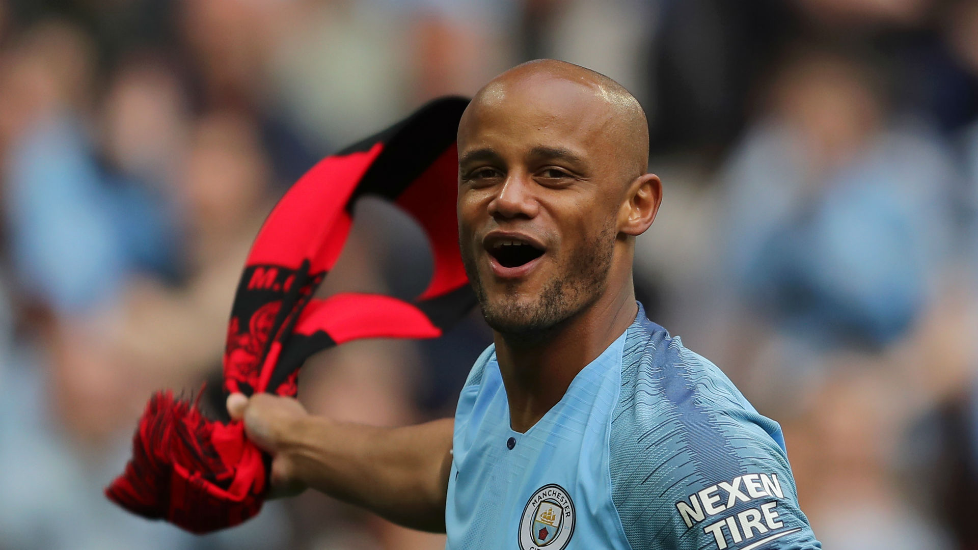 World class Kompany is Manchester City's DNA, says Goater