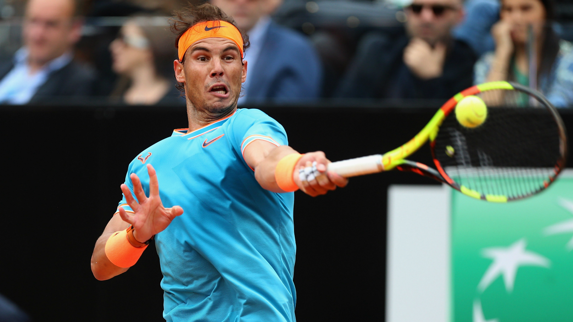 Nadal gets revenge on Tsitsipas to reach Rome final