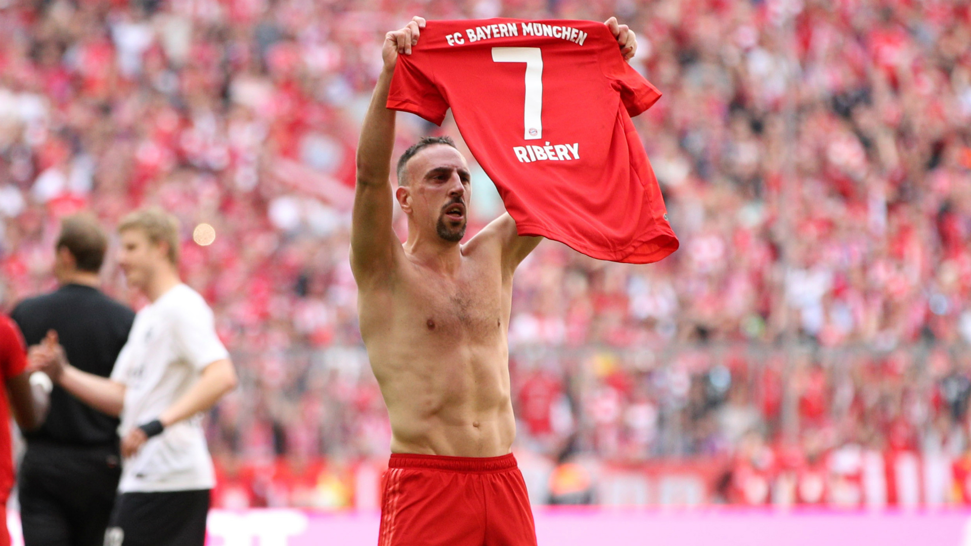 My last great moment at Allianz Arena – Ribery revels in Bundesliga triumph