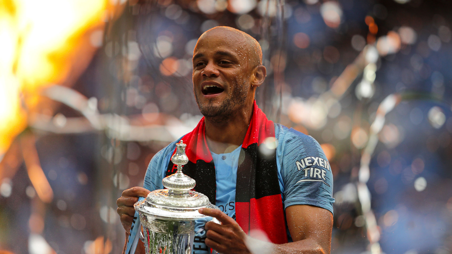 Kompany leaving Manchester City after 11 years