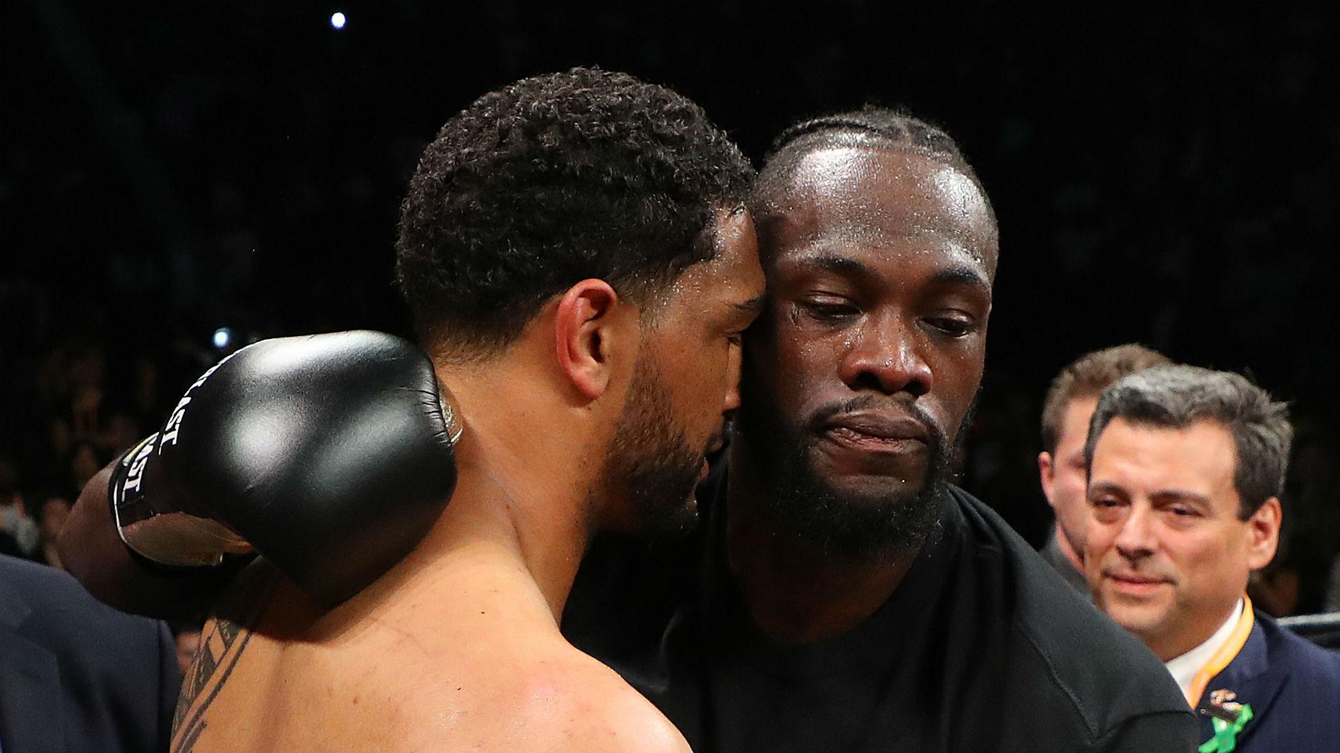 Breazeale feels referee stopped Wilder fight too early