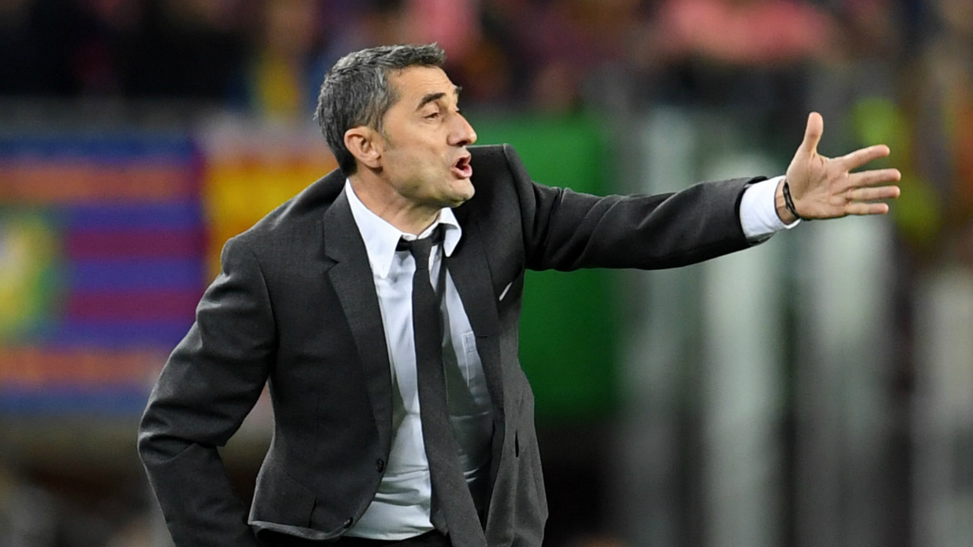 Barcelona also led by three against Roma, warns Valverde