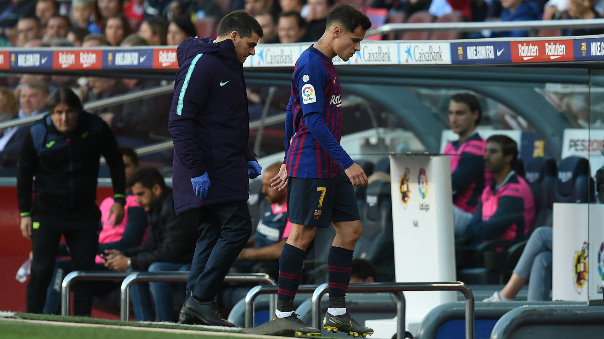 Valverde pessimistic about Coutinho, Dembele playing in Copa final