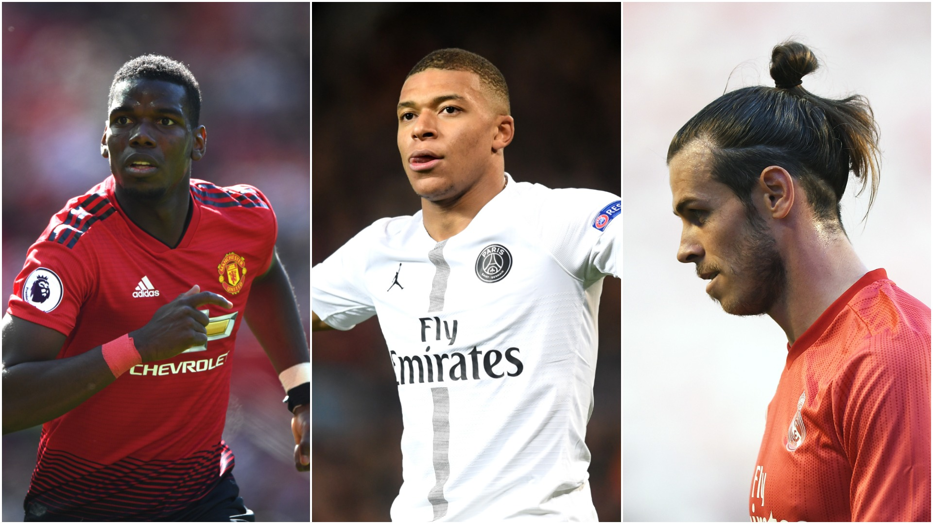 Pogba, Hazard and Mbappe in, Bale and Isco out? - Real Madrid set for busy close-season