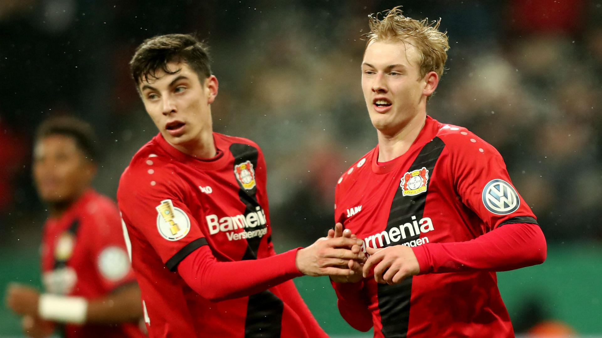 Bosz: Champions League improves chances of keeping Brandt & Havertz
