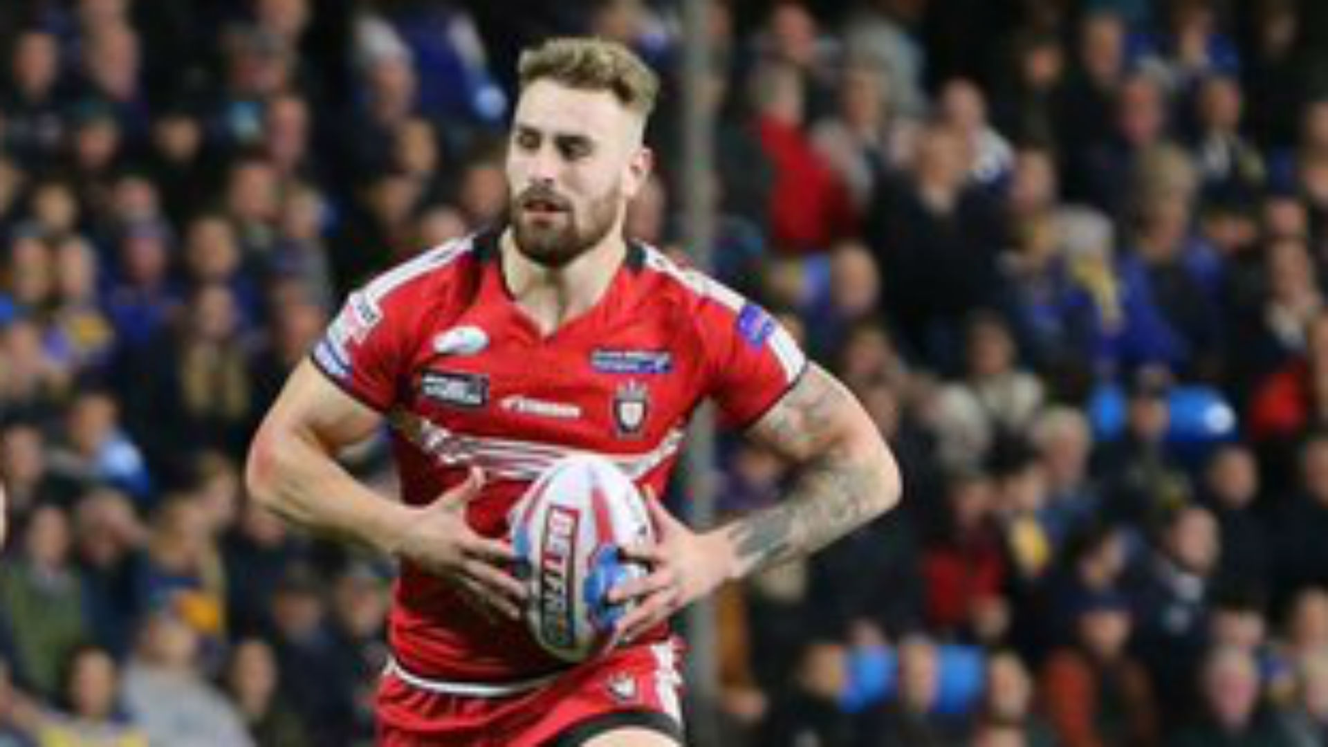 Former Salford forward Turgut hospitalised with 'severe injuries'