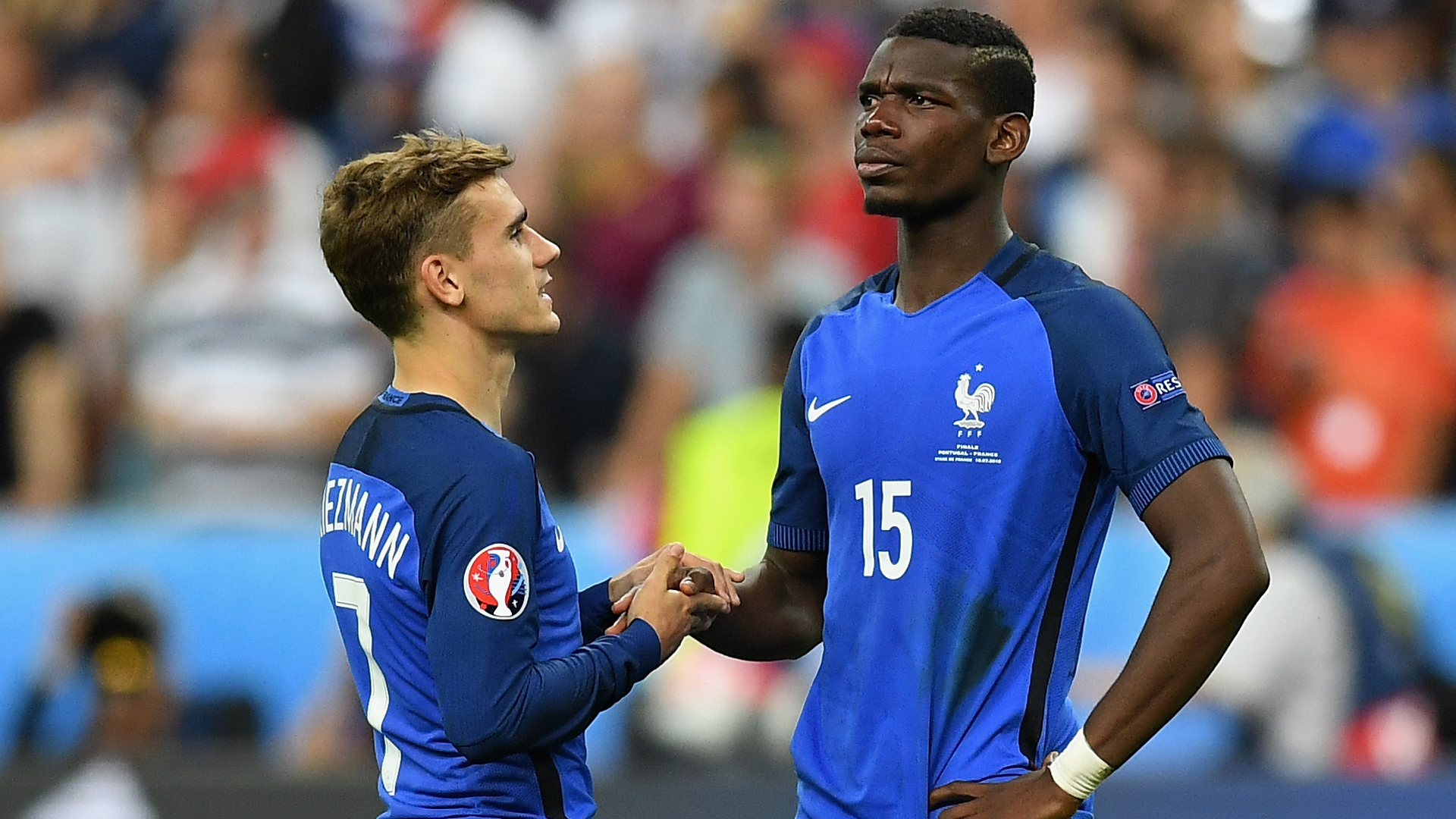 Deschamps: Pogba and Griezmann must be sure they want to move