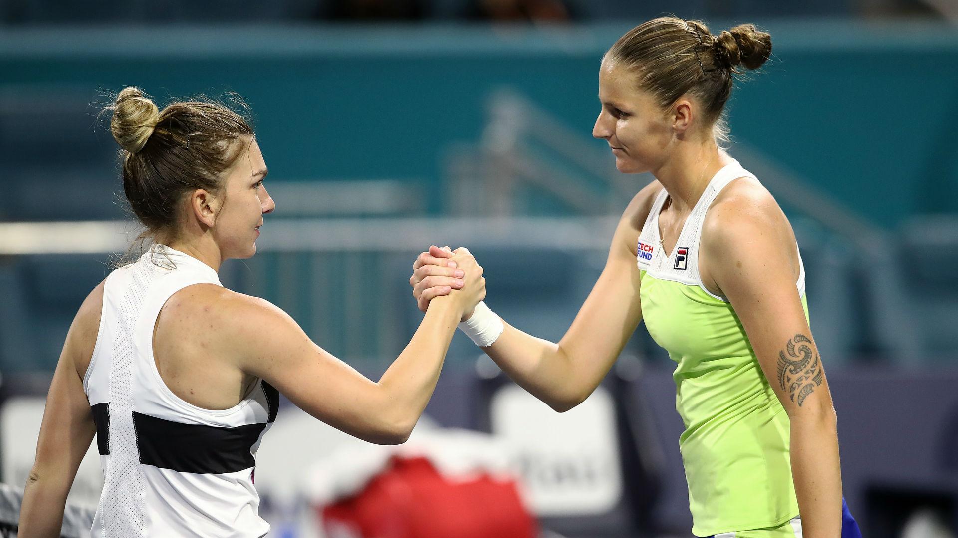 Halep closest to being WTA's Nadal - Pliskova