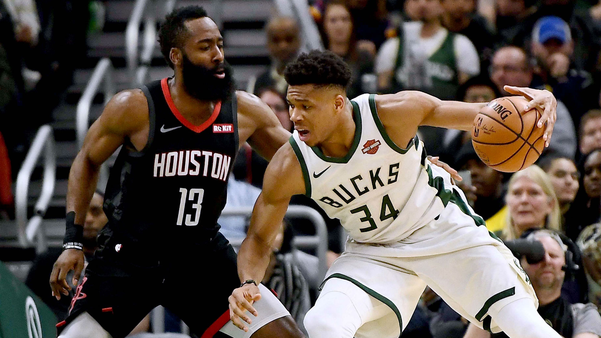 Giannis, Harden unanimous selections in All-NBA First Team