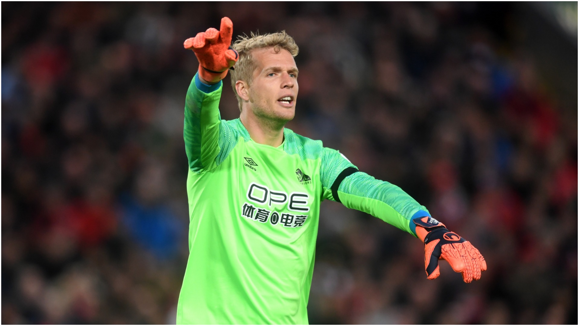 Jonas Lossl to join Everton on a free