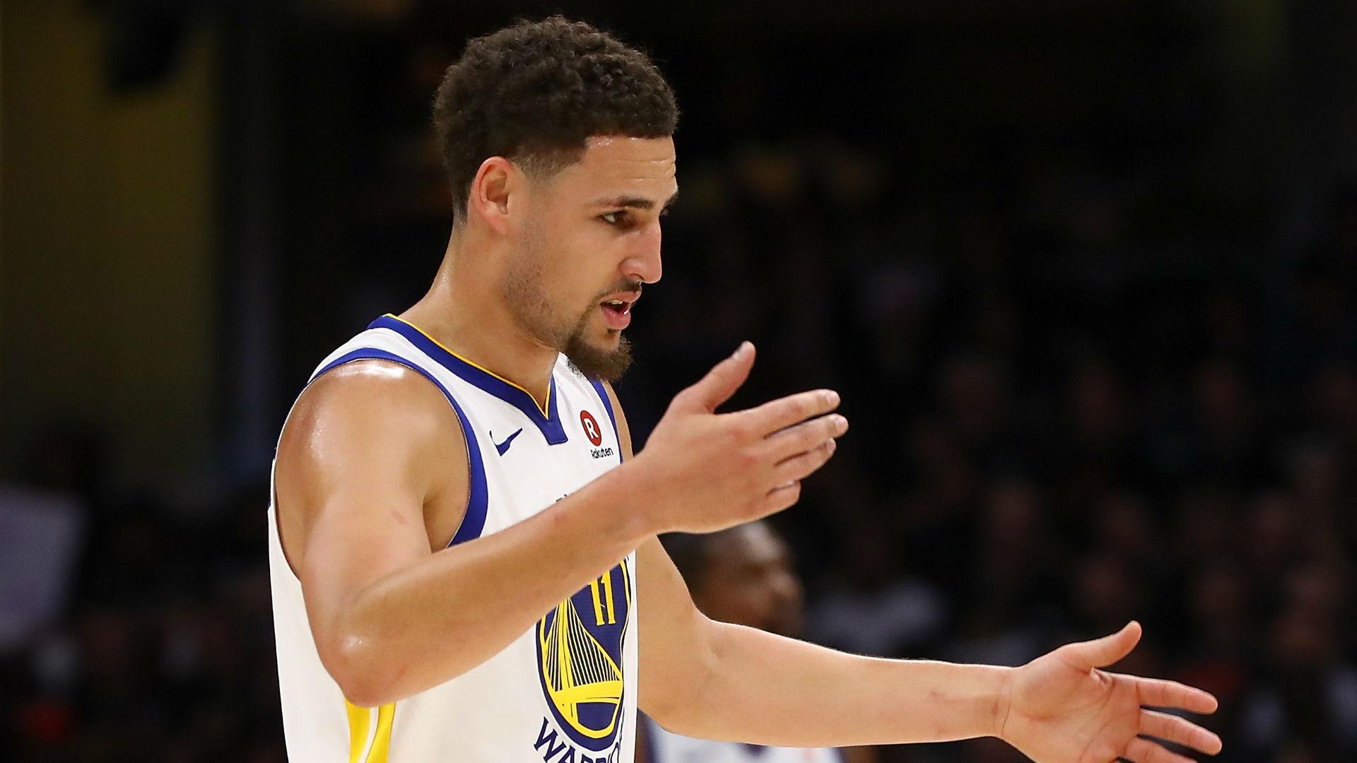 Klay Thompson fumes at All-NBA snub
