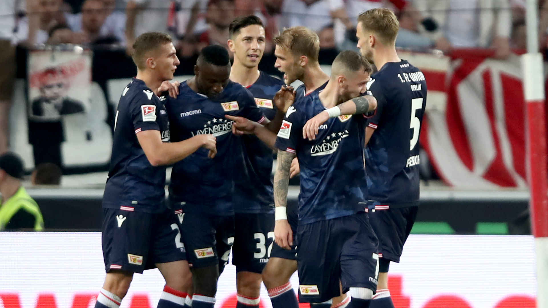 Union Berlin hold Stuttgart in relegation play-off first leg