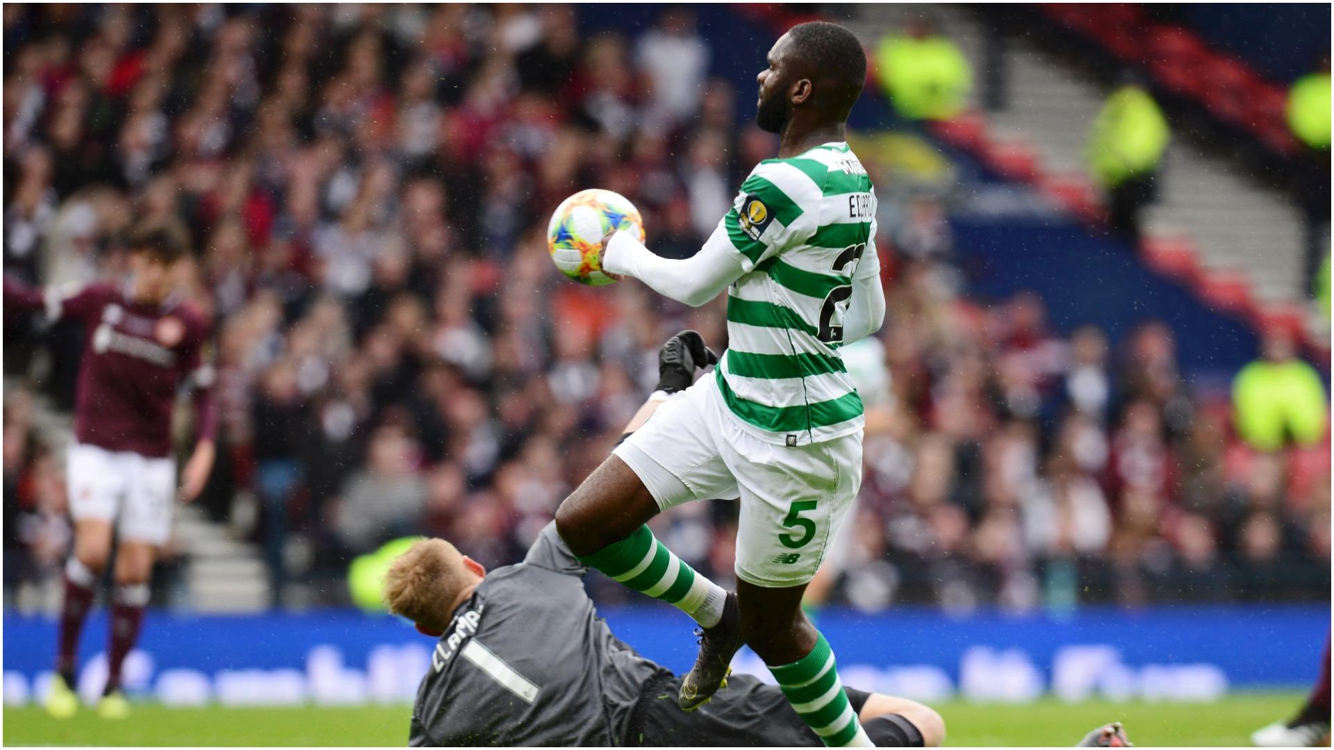Edouard brace fires Celtic to historic treble-treble