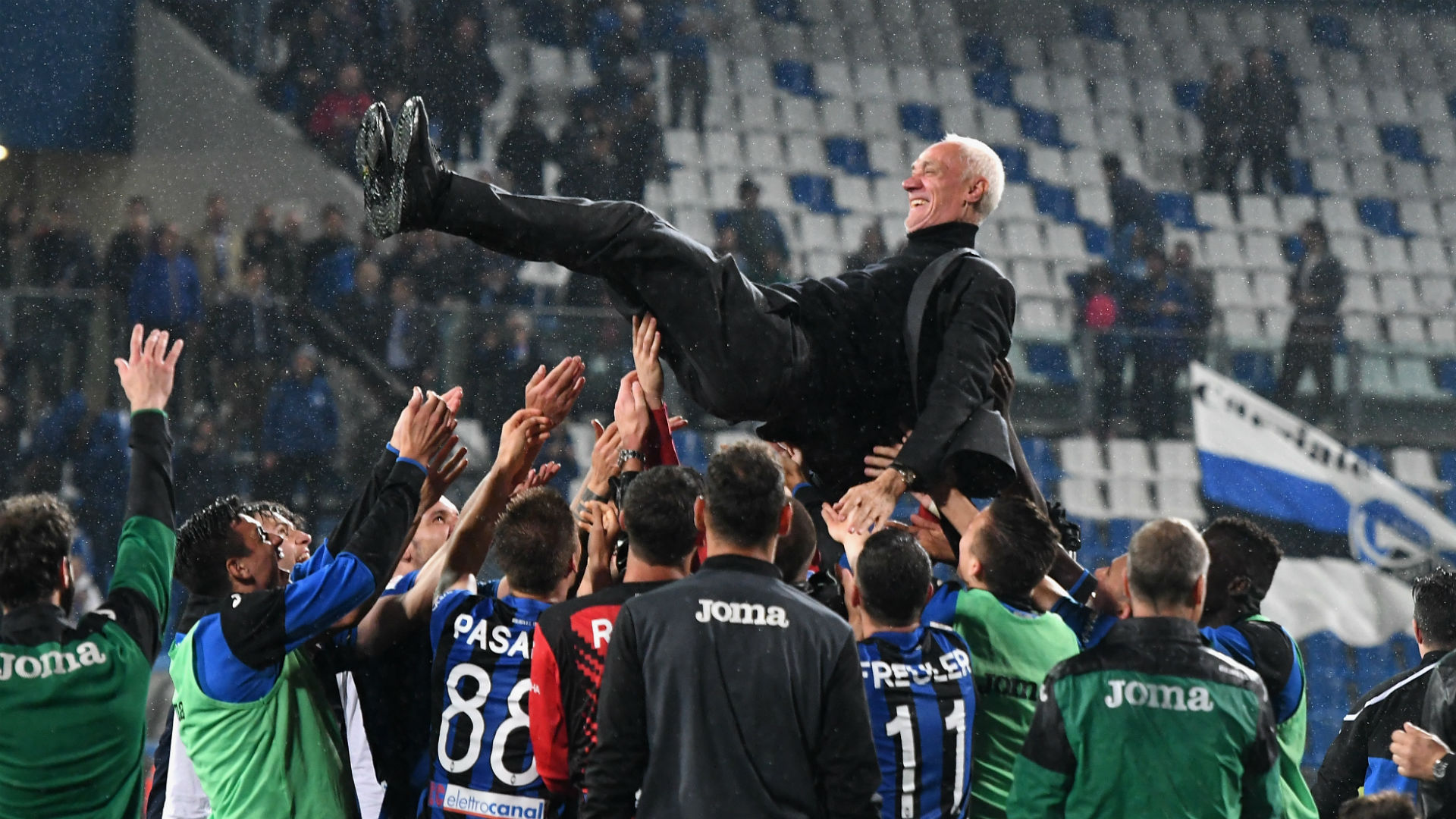 Atalanta book Champions League debut, Empoli relegated