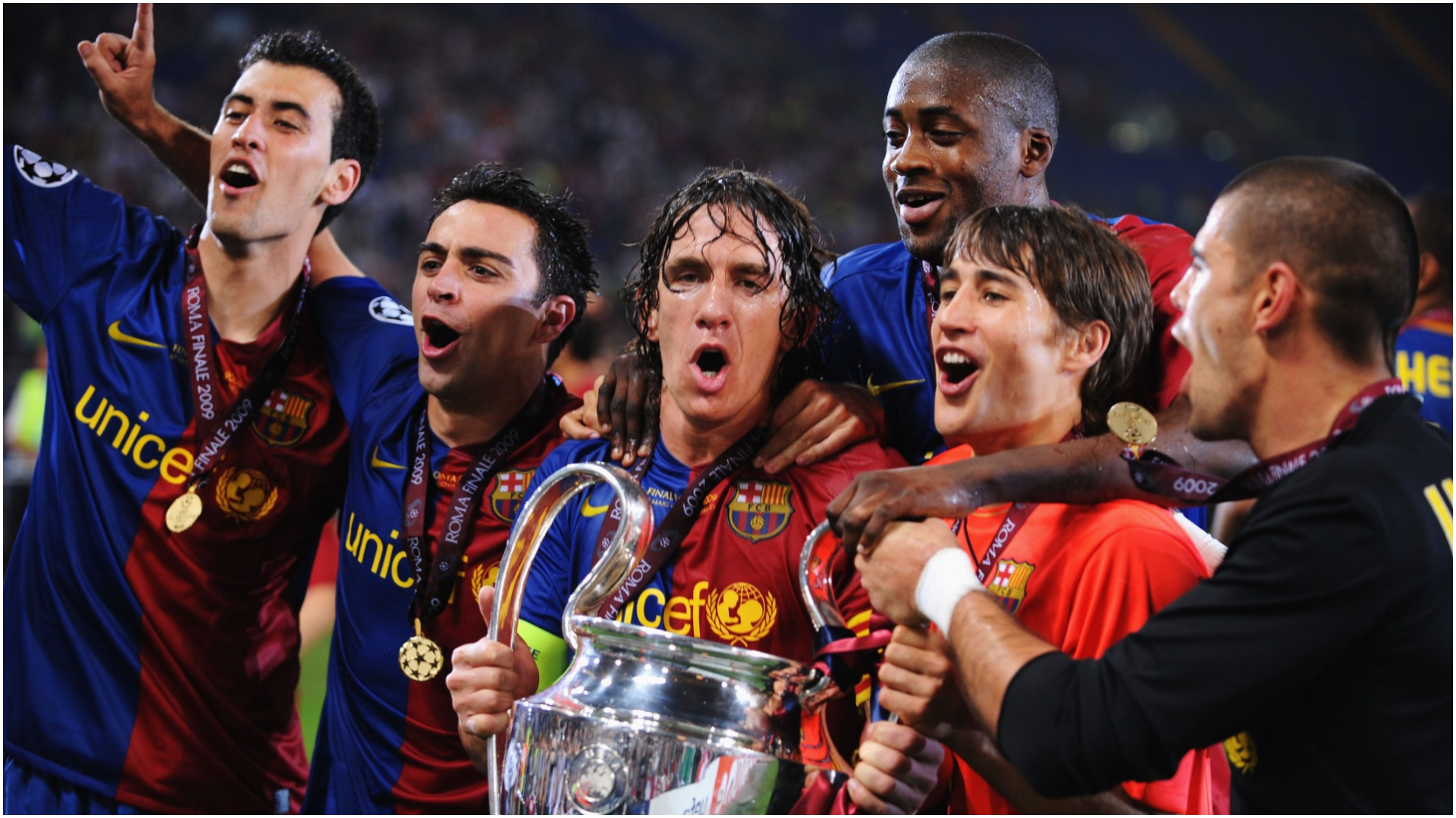 Centre-back Toure & Messi's breakthrough year - Barcelona's 2009 Champions League winners