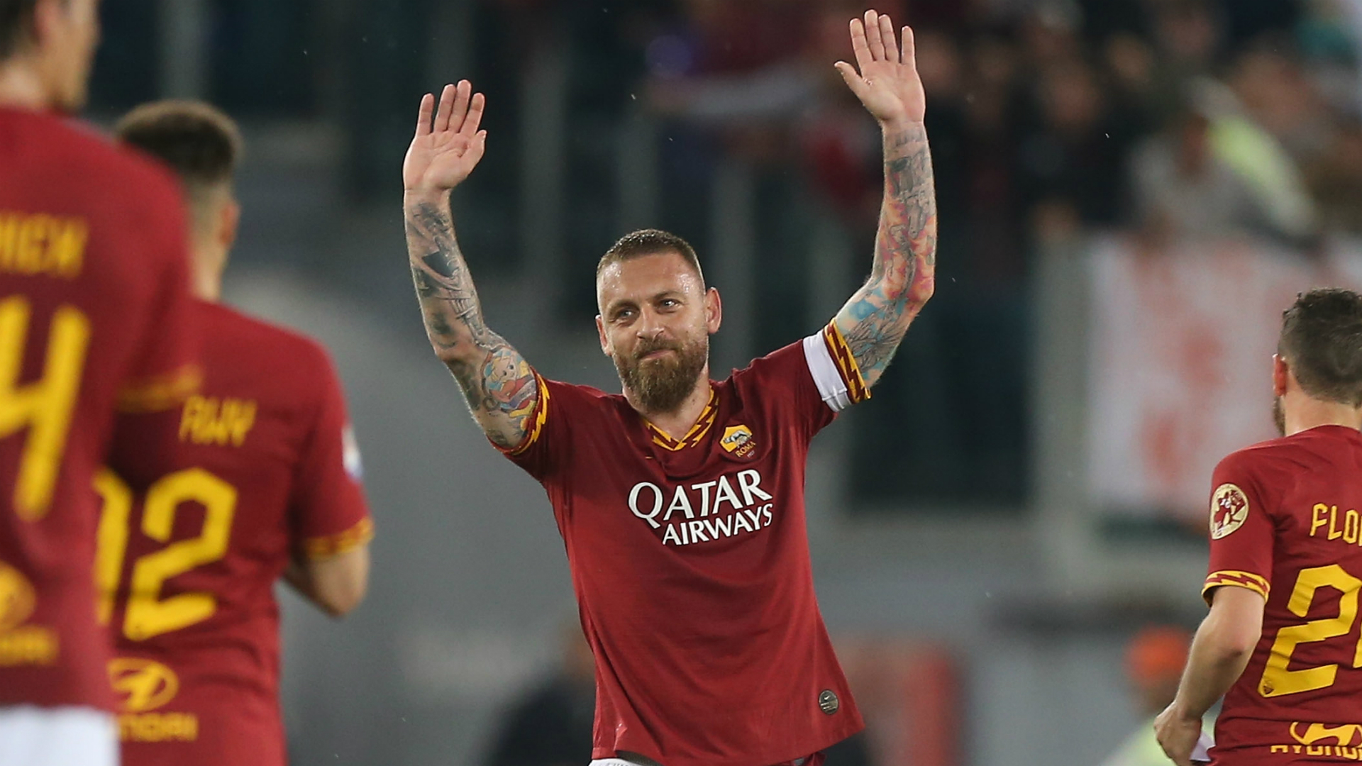 De Rossi bids emotional farewell to Roma