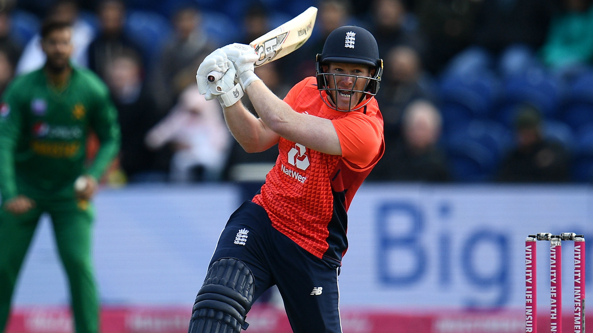 England captain Morgan back batting as Wood sits out