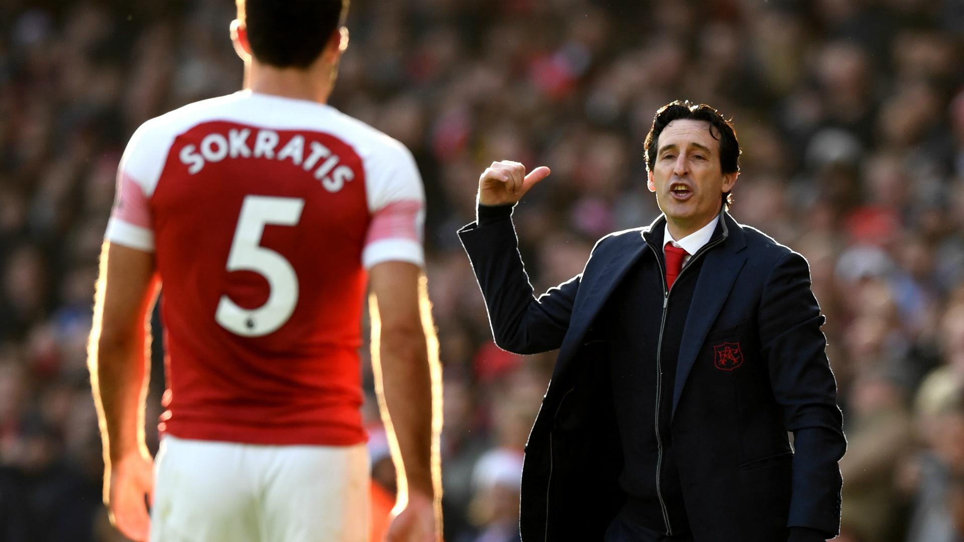 Sokratis: Arsenal boss Emery the best coach of my career