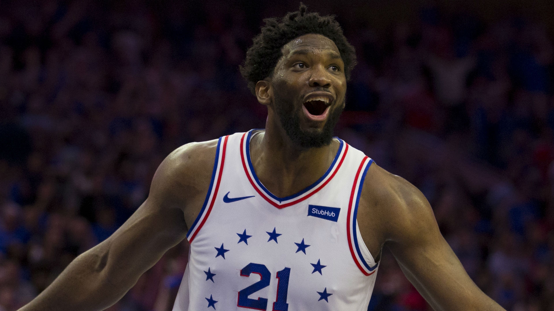 Brown lauds 'crown jewel' Embiid