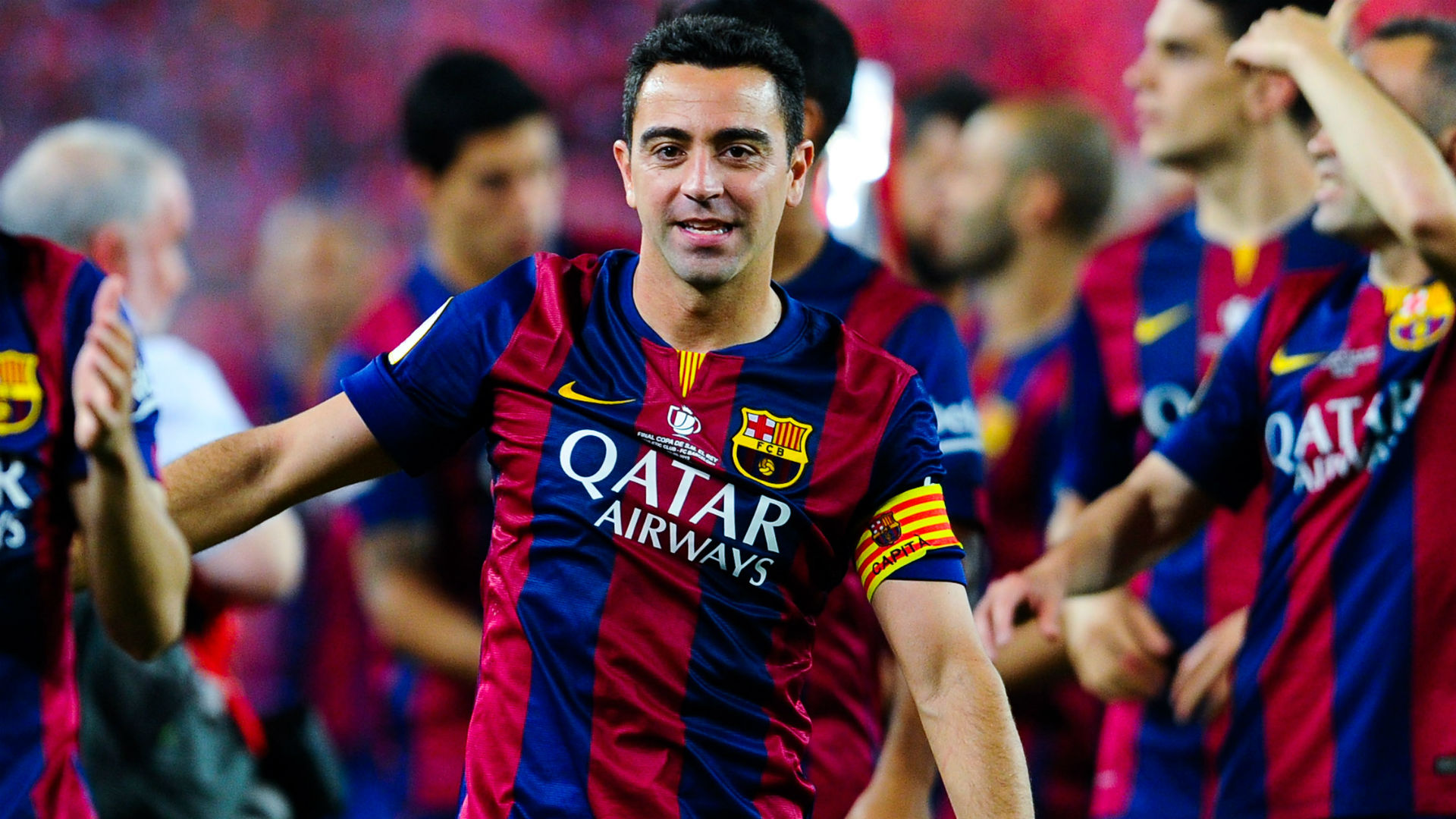 Barcelona great Xavi confirms retirement plans