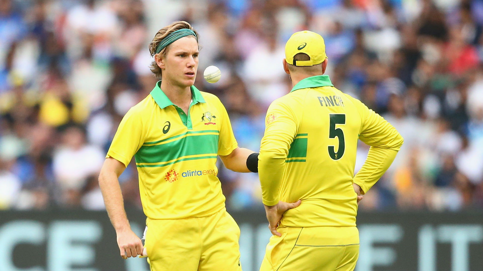 Spinner Zampa an opening option for Australia, claims Finch