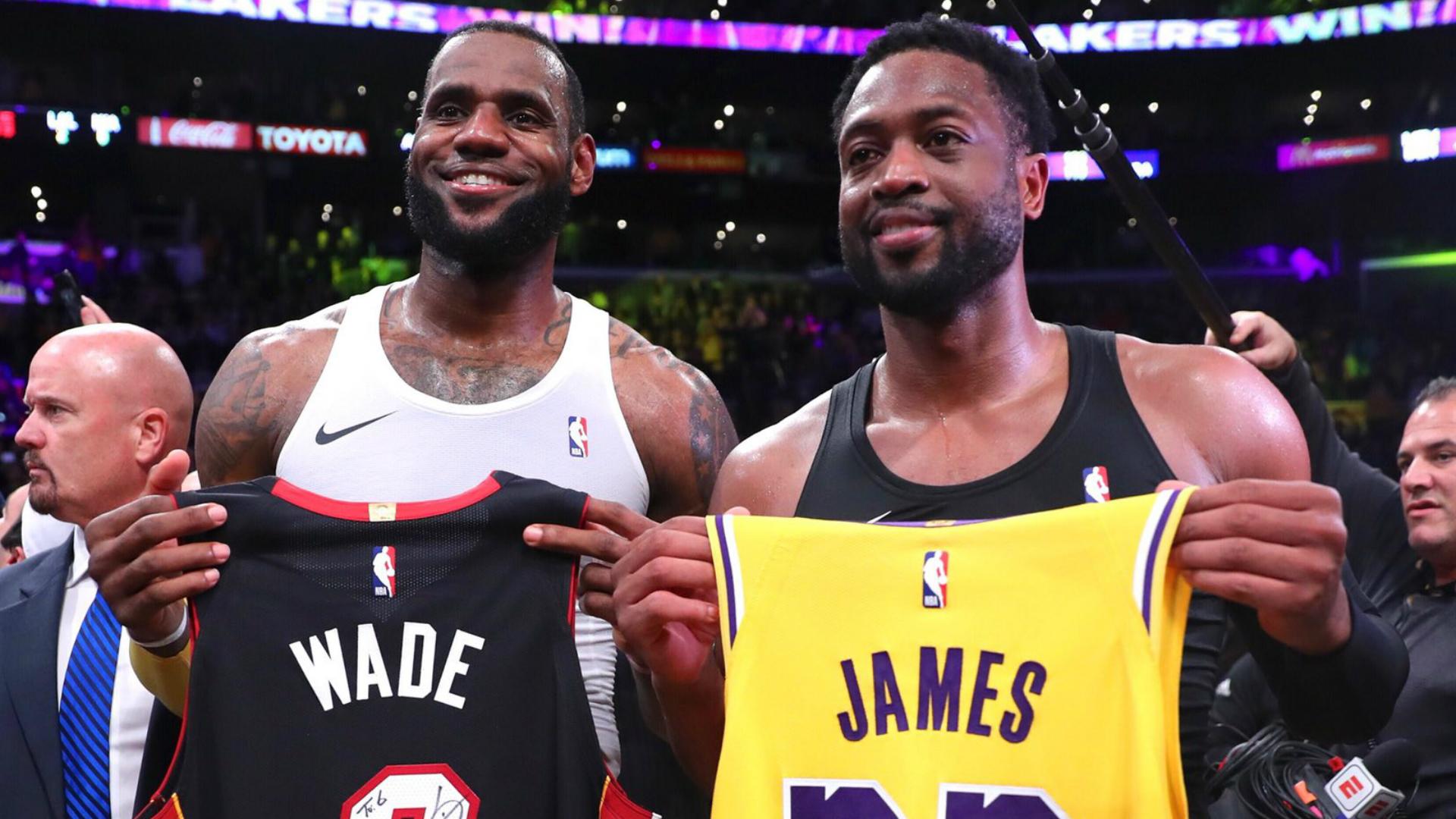 Sons of LeBron James, Dwyane Wade teaming up in high school