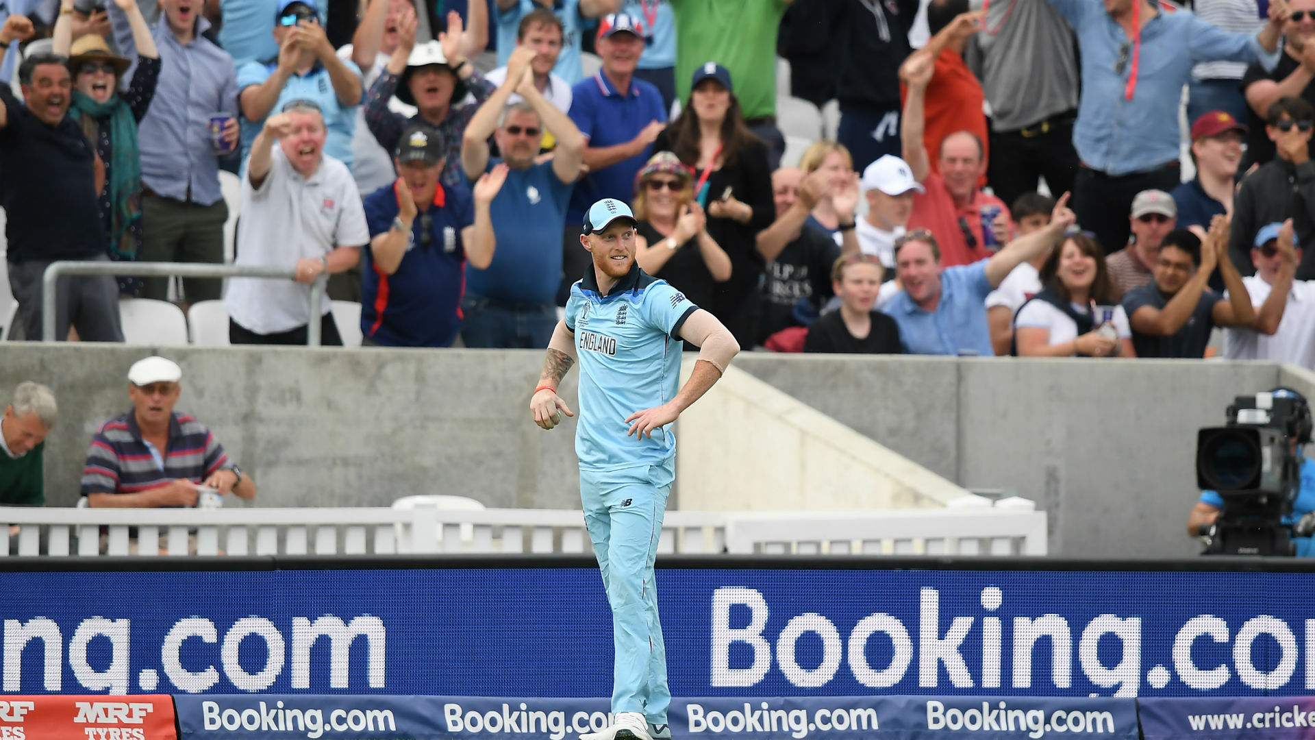 I was panicking! Stokes puts miraculous catch down to luck