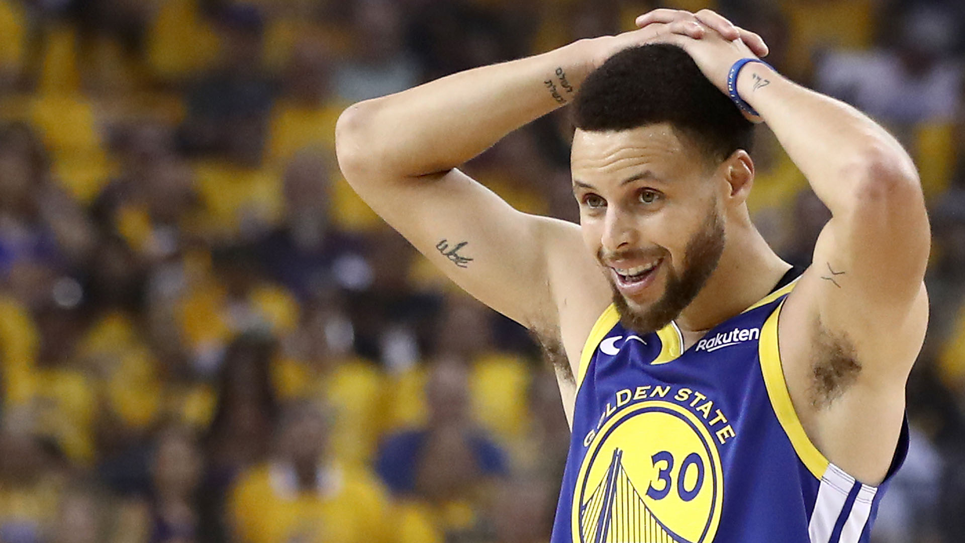 22c435b845b0 NBA playoffs 2019  Stephen Curry abysmal down the stretch in Game 3 ...