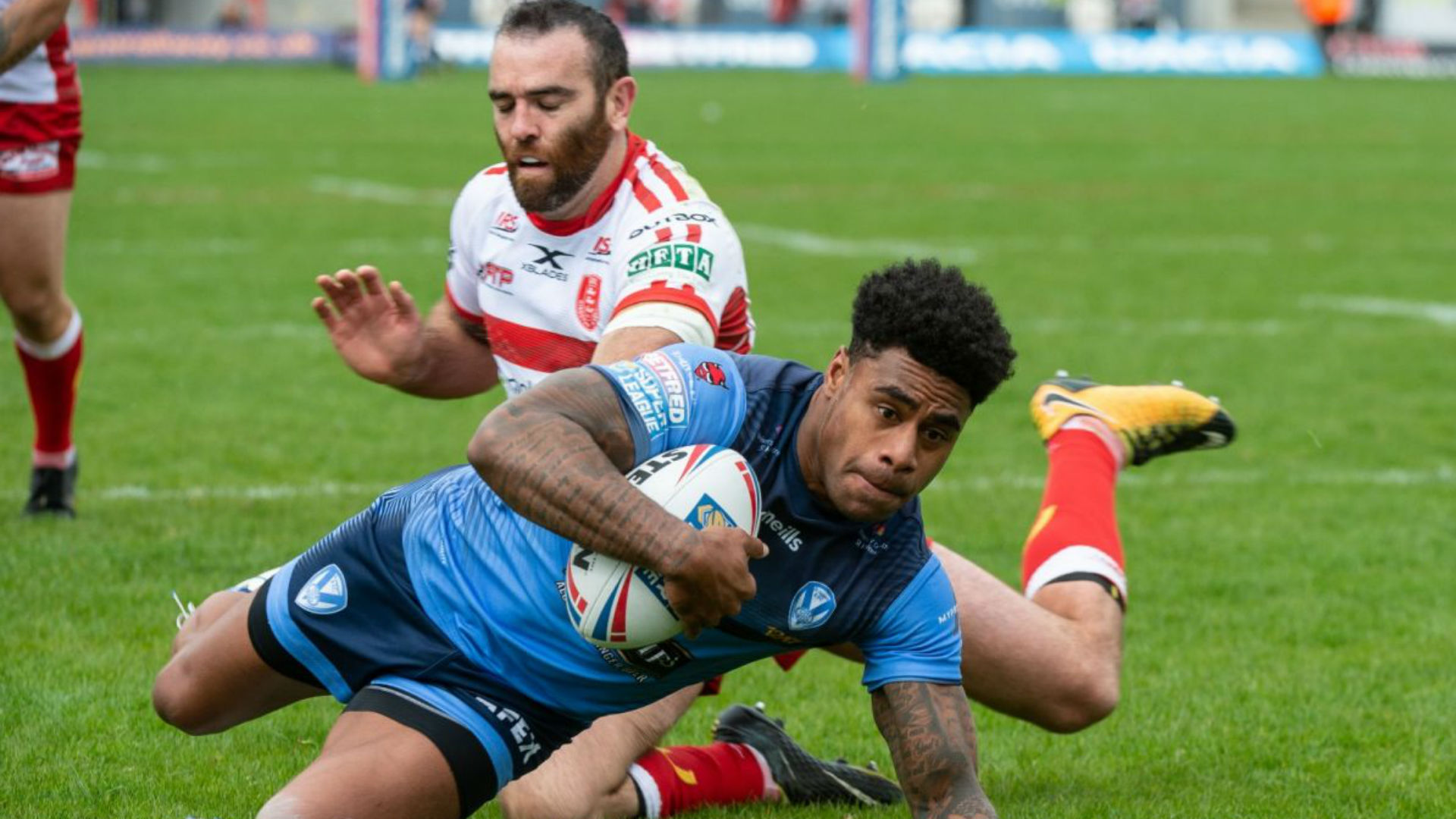 Naiqama and Makinson trebles see Saints edge Hull KR