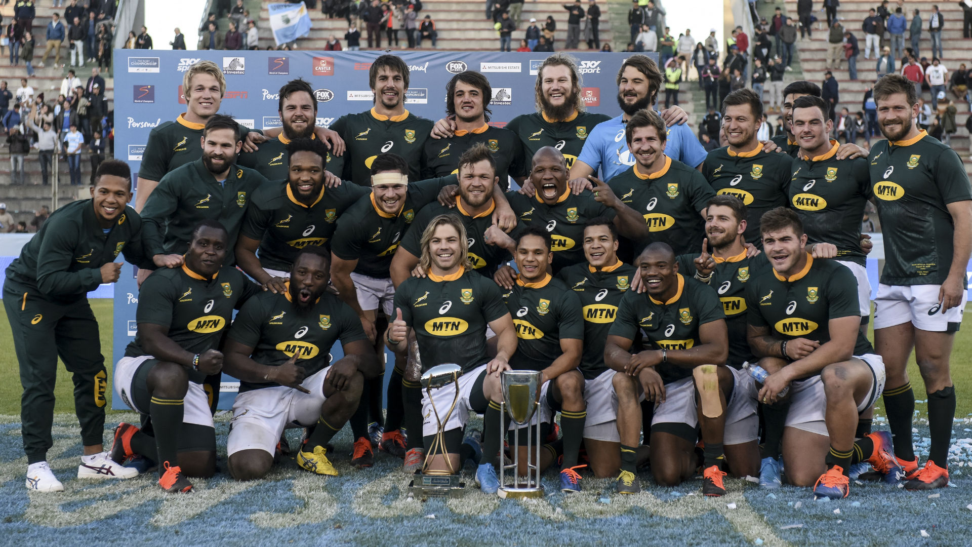 Rugby World Cup 2019: Can Rugby Championship winners South Africa make history by doing the double?