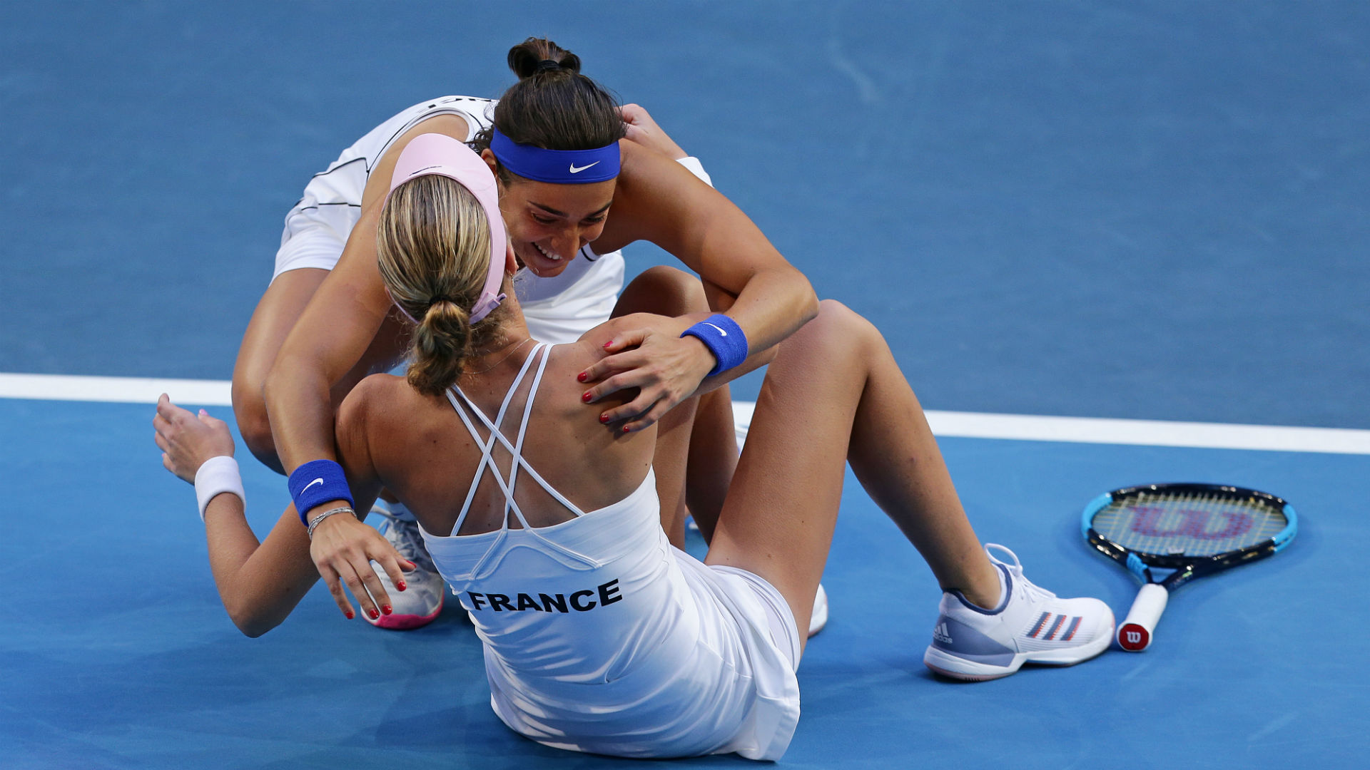 Mladenovic and Garcia make amends with Fed Cup final triumph over Barty's Australia