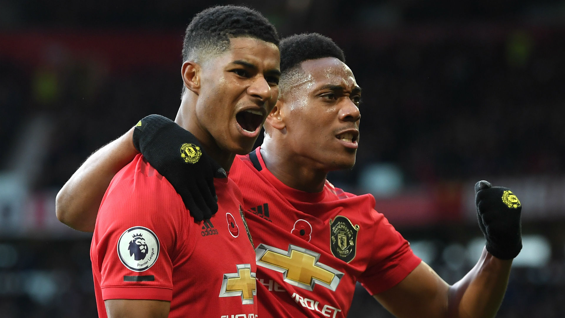 Manchester United 3 1 Brighton And Hove Albion Rashford And
