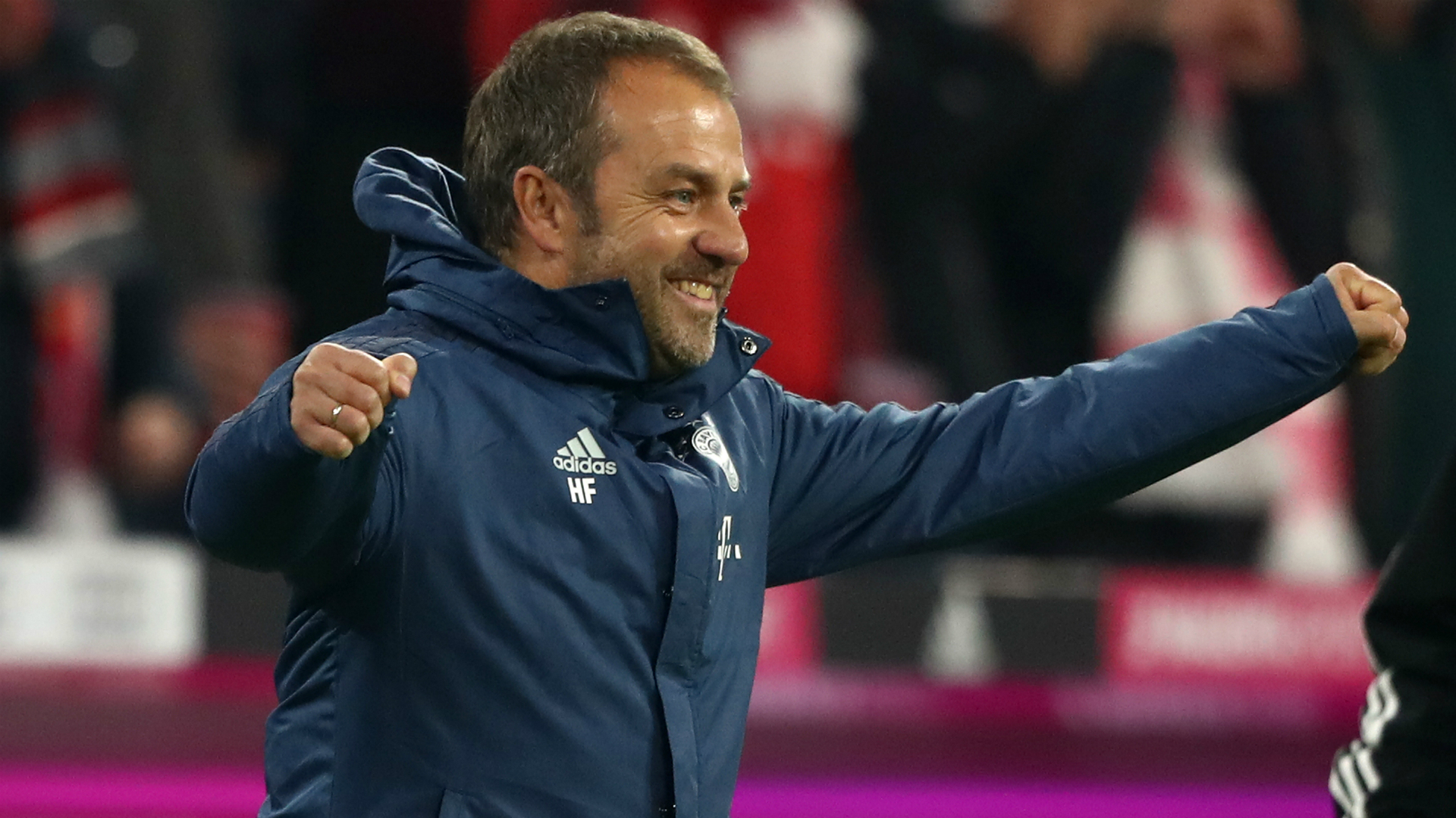 Flick 'totally happy' after winning both Bayern games
