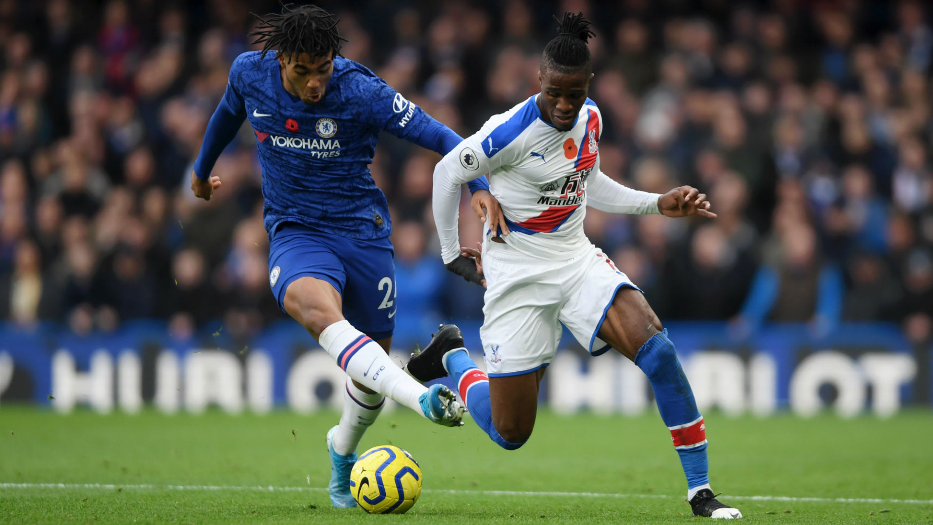 Lampard applauds James' nullifying of Zaha as Hodgson defends under-fire winger