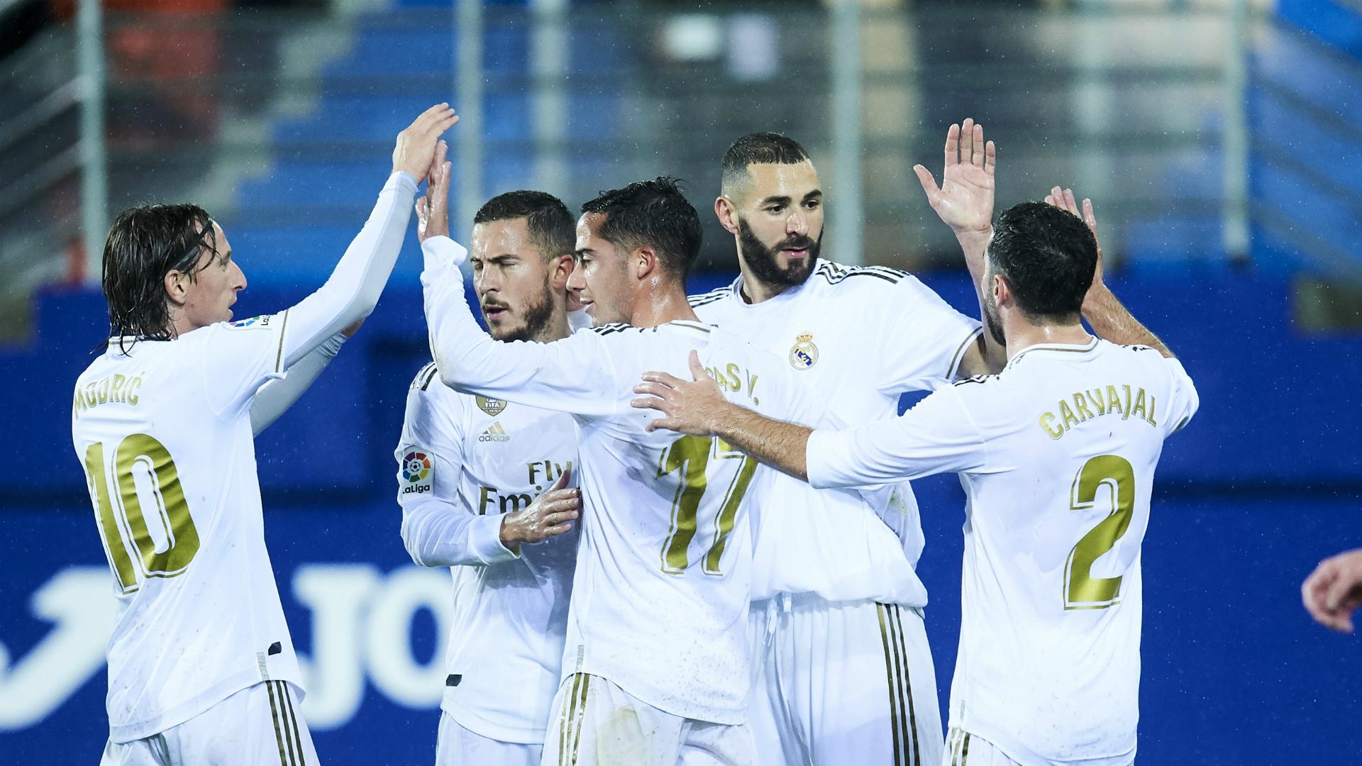 Eibar 0-4 Real Madrid: Benzema double helps lift Zidane's men into top spot