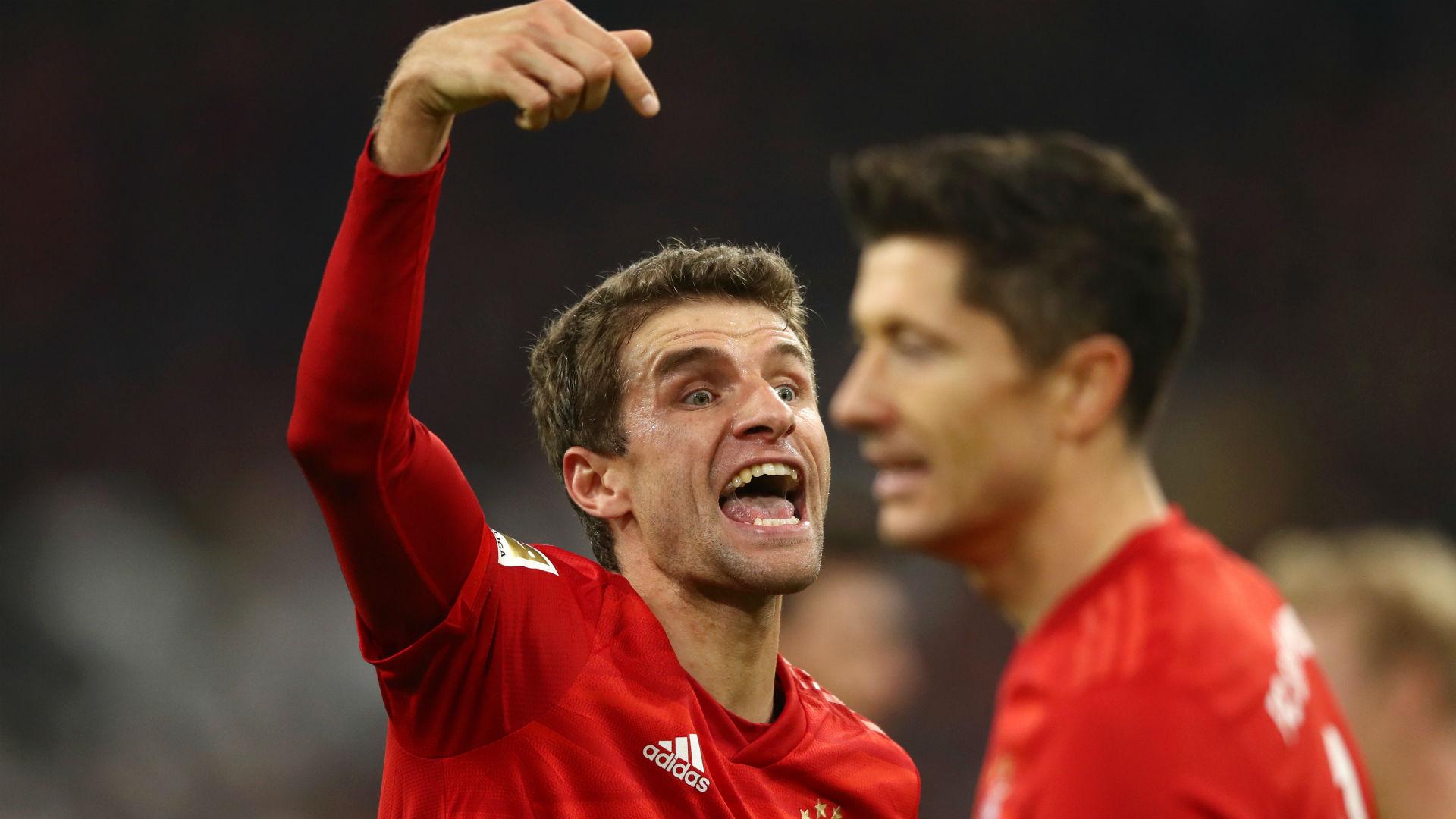 Assist machine Muller brings up Bundesliga century