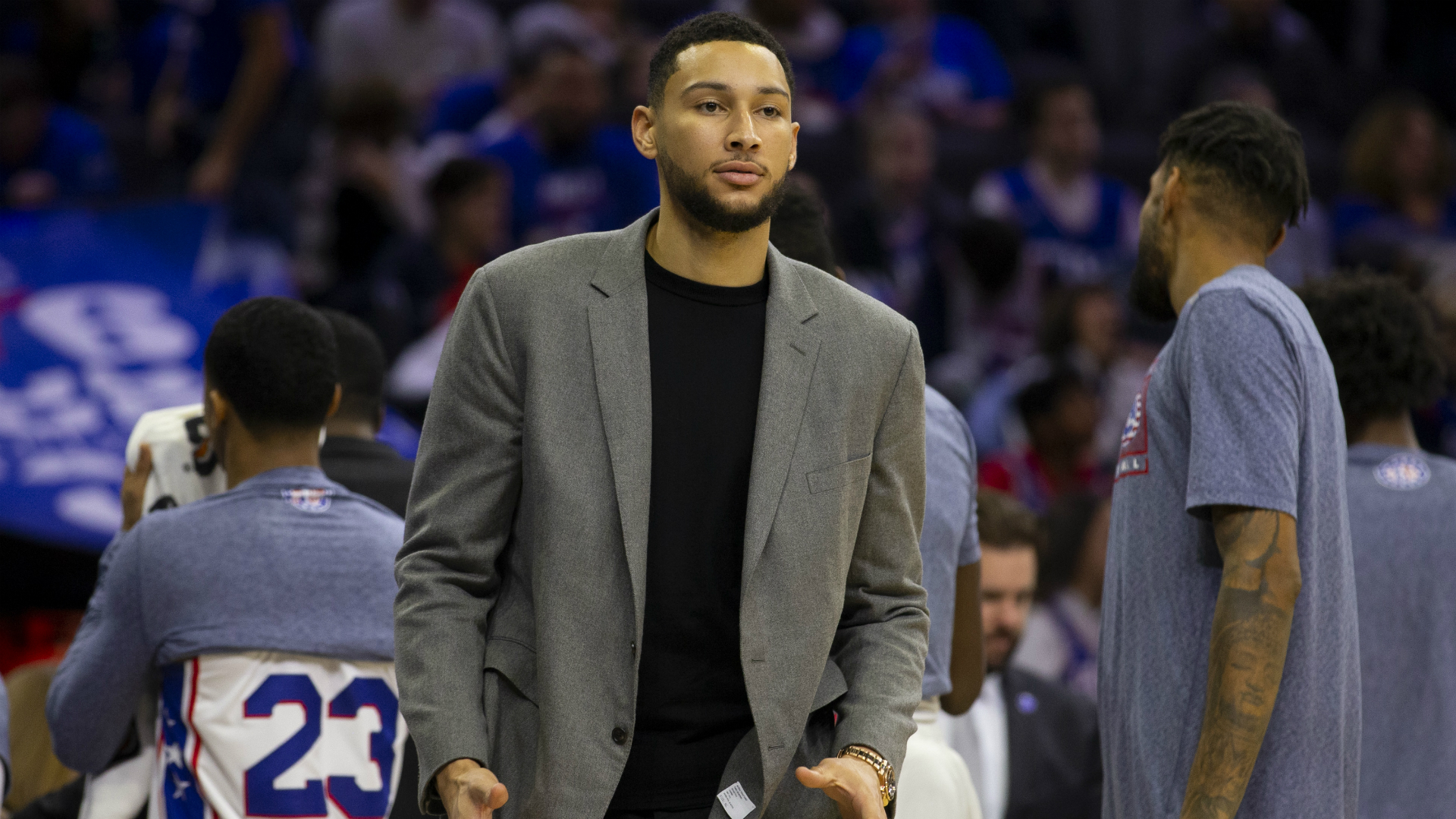 Ben Simmons feeling great after watching Sixers snap skid