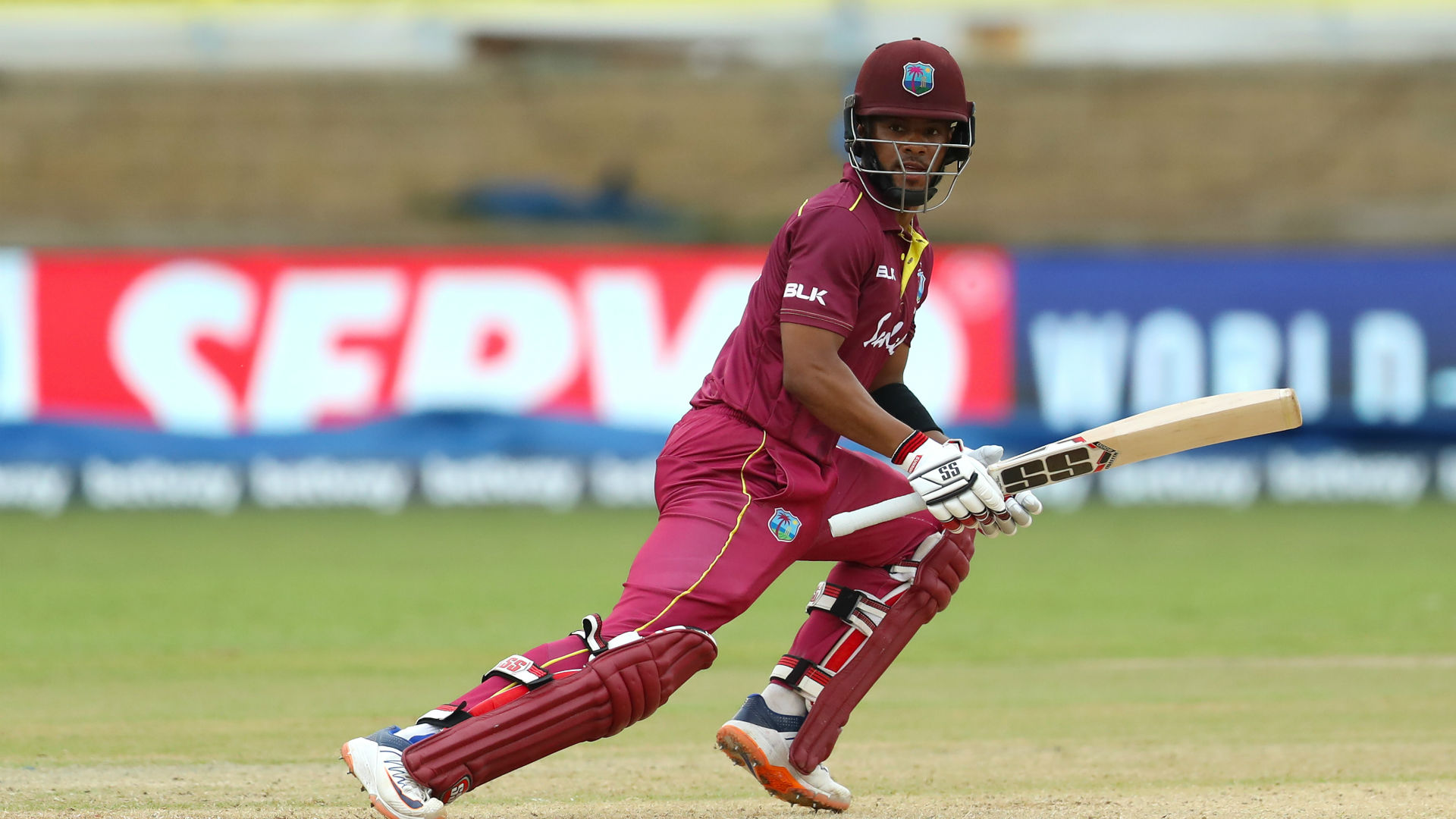 Hope hits a hundred as West Indies complete Afghanistan whitewash