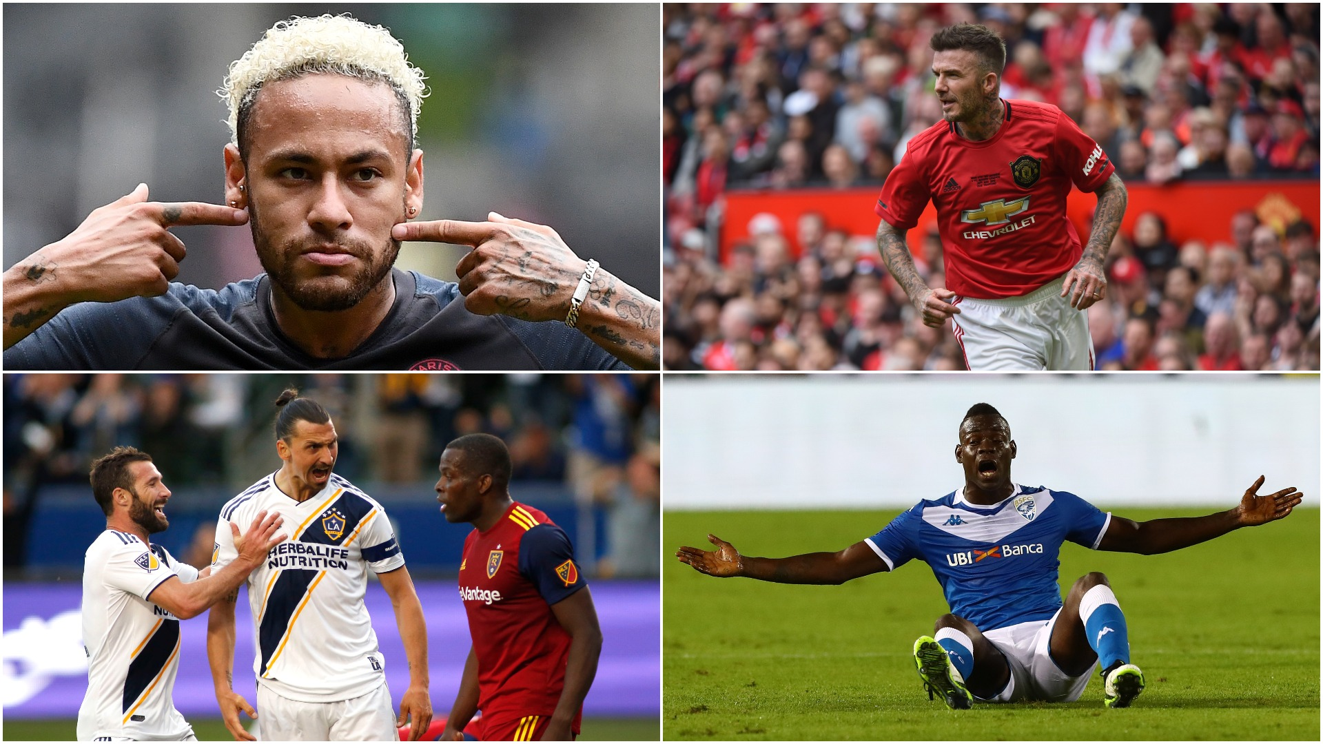 Sterling v Gomez: Beckham, Neymar, Ibrahimovic and other memorable behind-the-scenes bust-ups