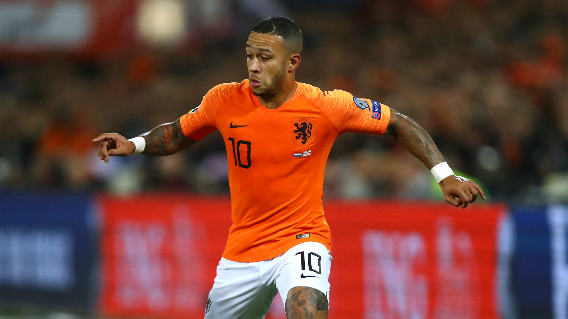 Depay leaving Lyon 'would be better' for Netherlands, says Koeman